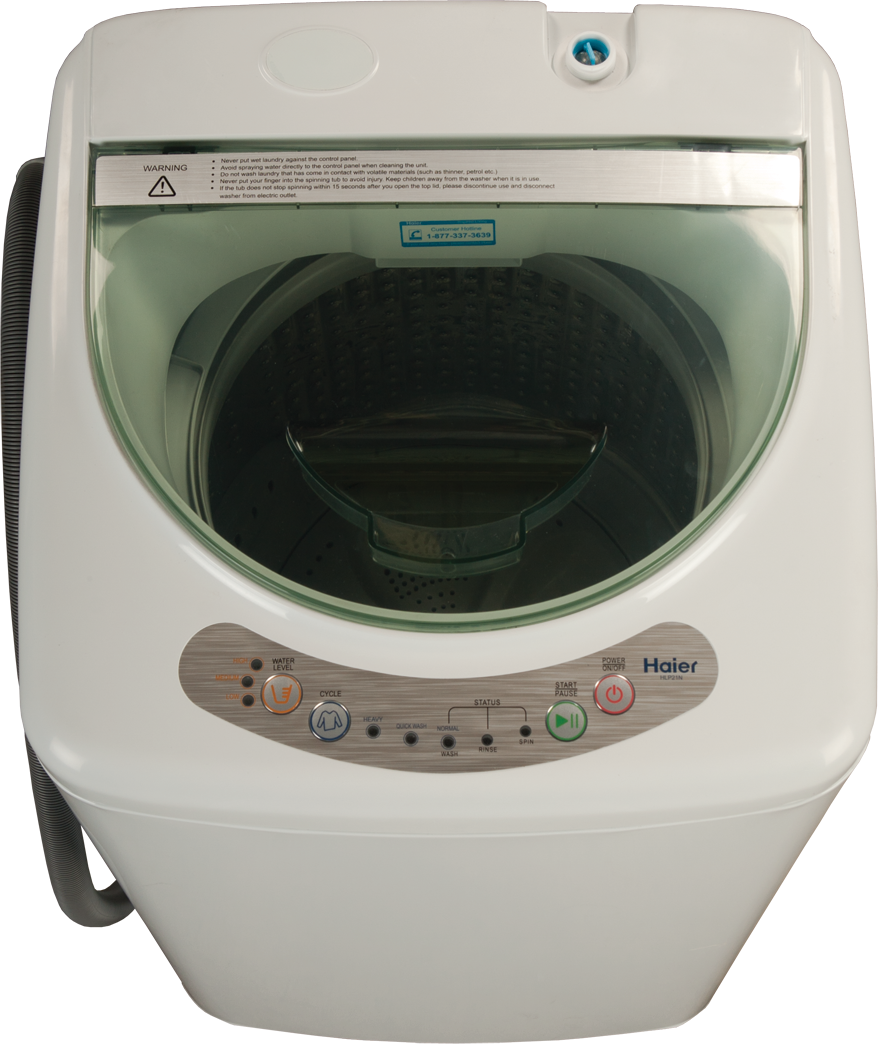 Haier HLP21N 18 Inch 1.0 cu. ft. Portable Washer with 3 Wash Cycles ...