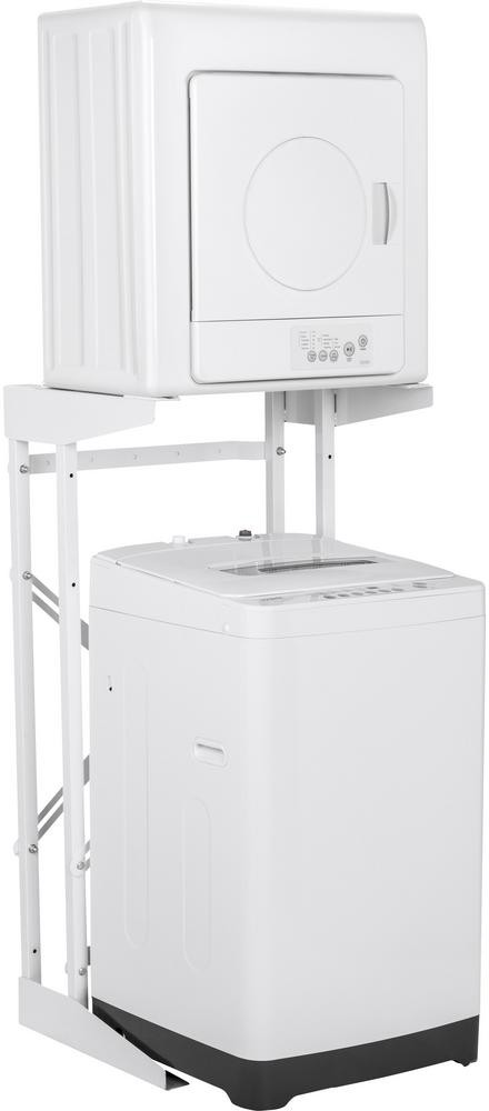 Haier Hawadrew1 Stacked Washer Dryer Set With Portable Washer And Electric Dryer In White