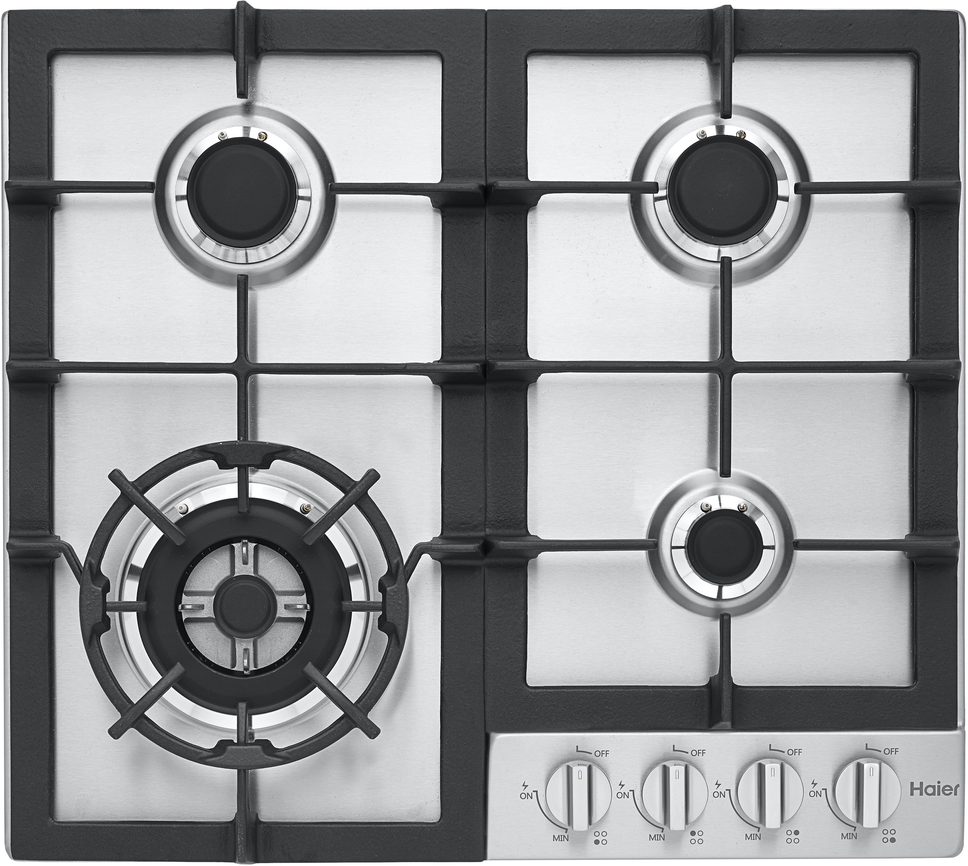 Haier Hcc2230ags 24 Inch Gas Cooktop