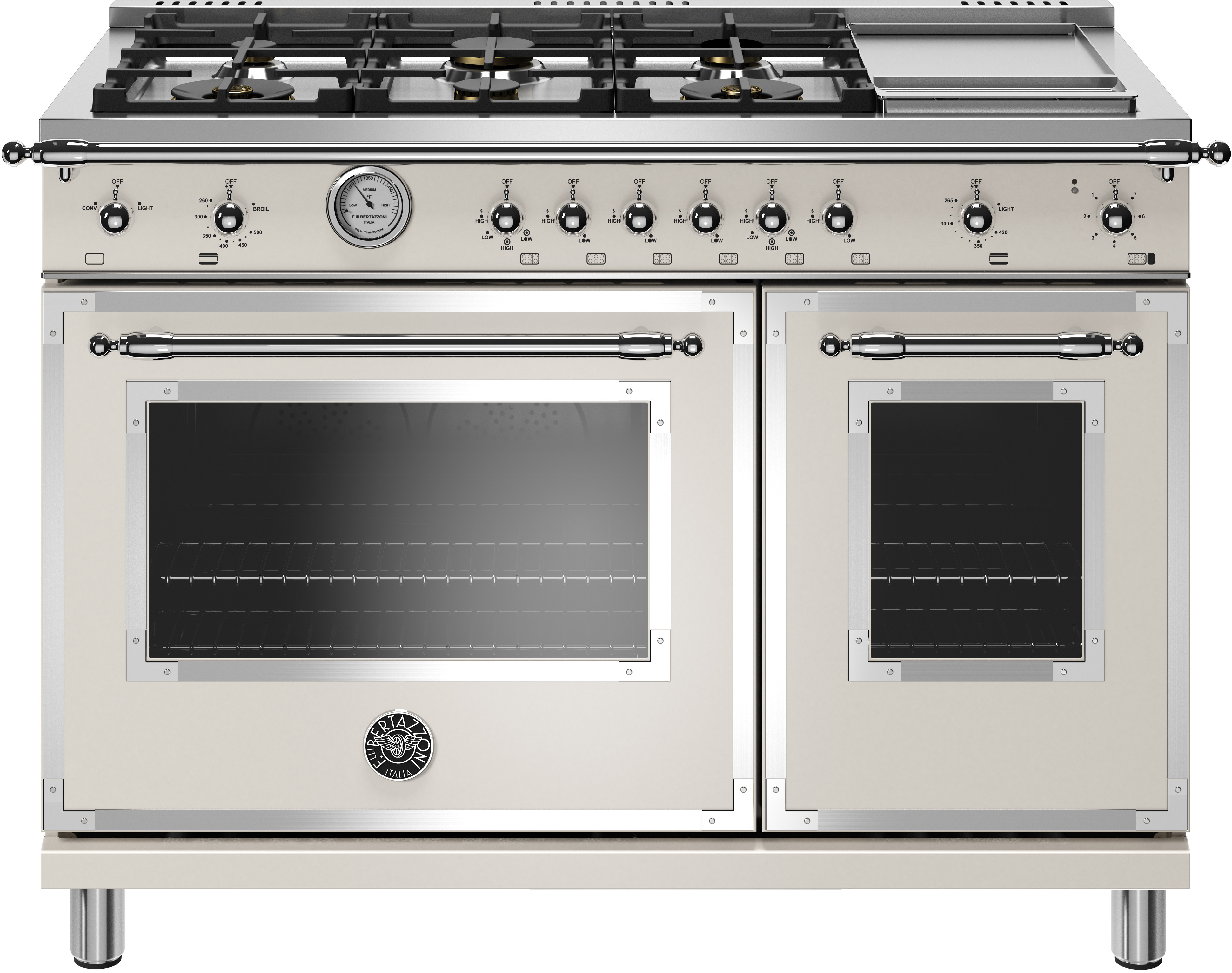 48 Inch Traditional Style Gas Range