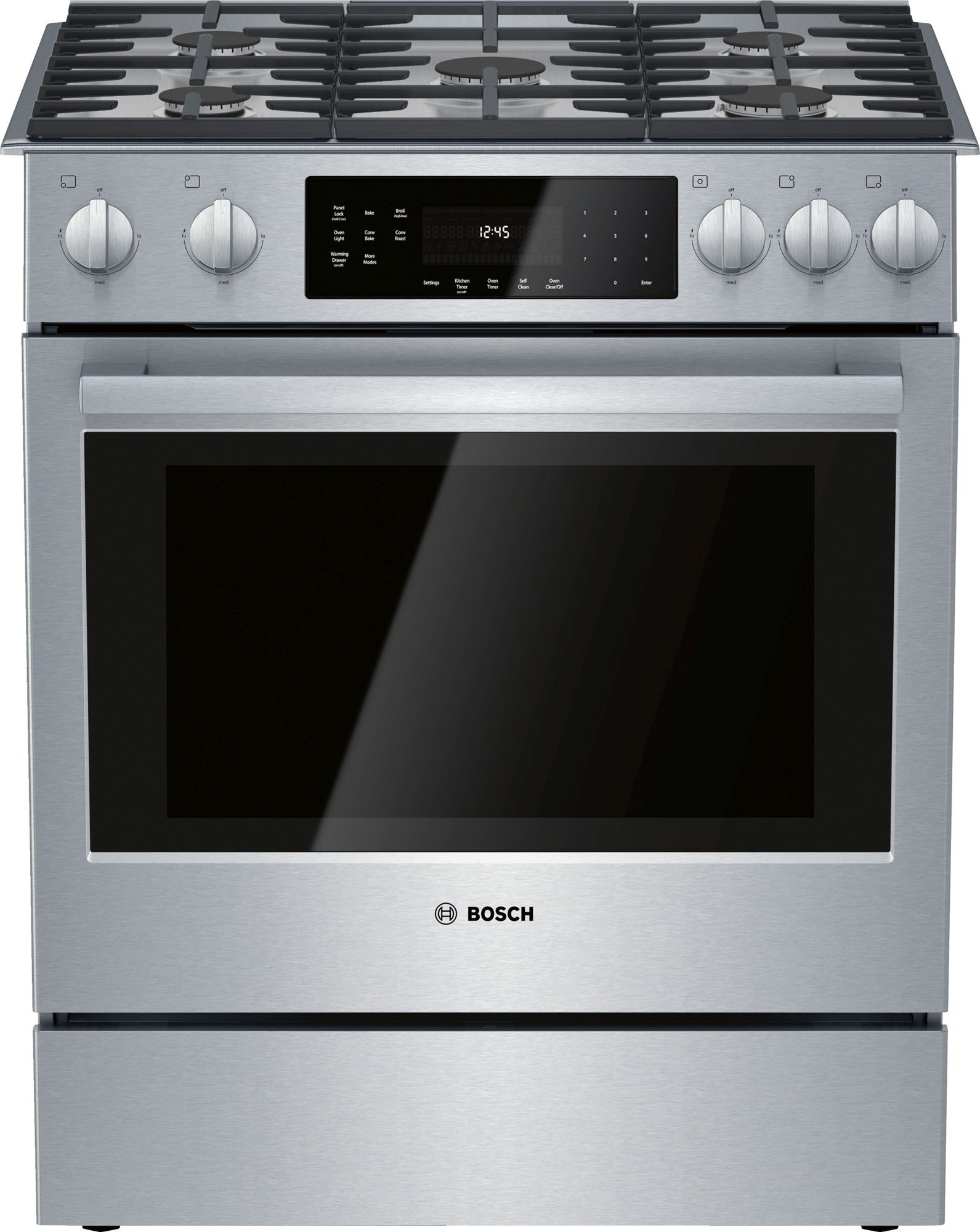 - Bosch HGI8056UC 30 Inch Slide-In Gas Range With Convection