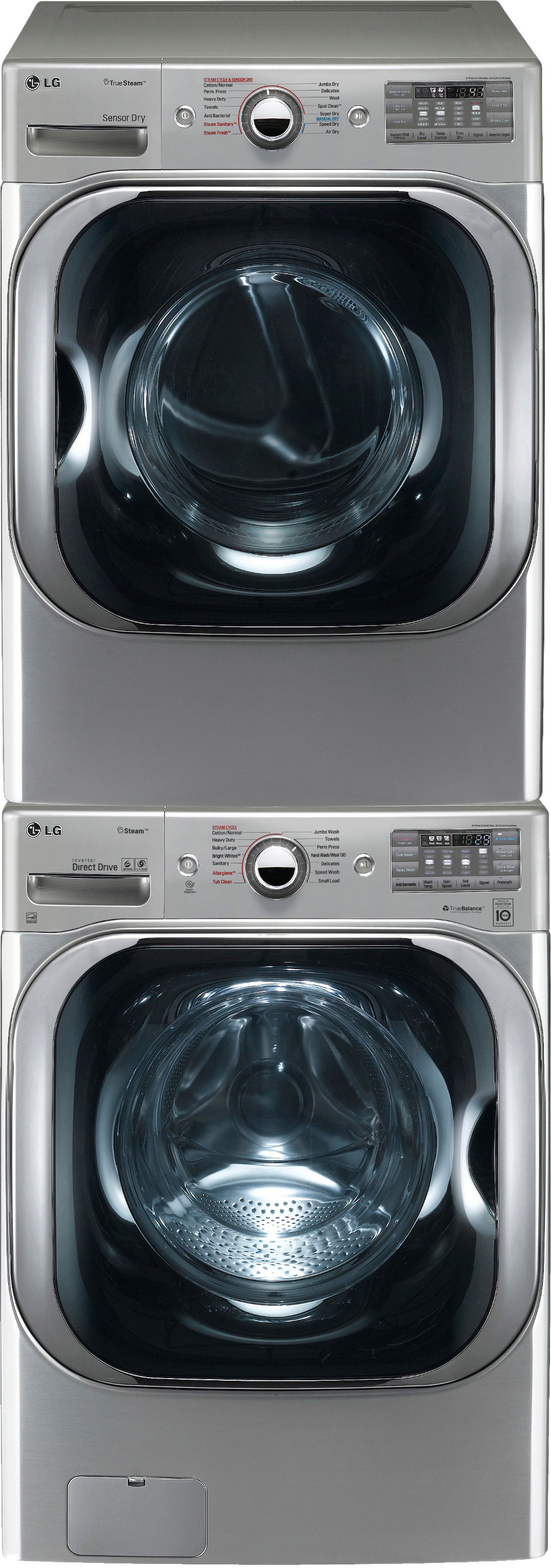 Lg Lgwadrew8109 Stacked Washer Amp Dryer Set With Front Load