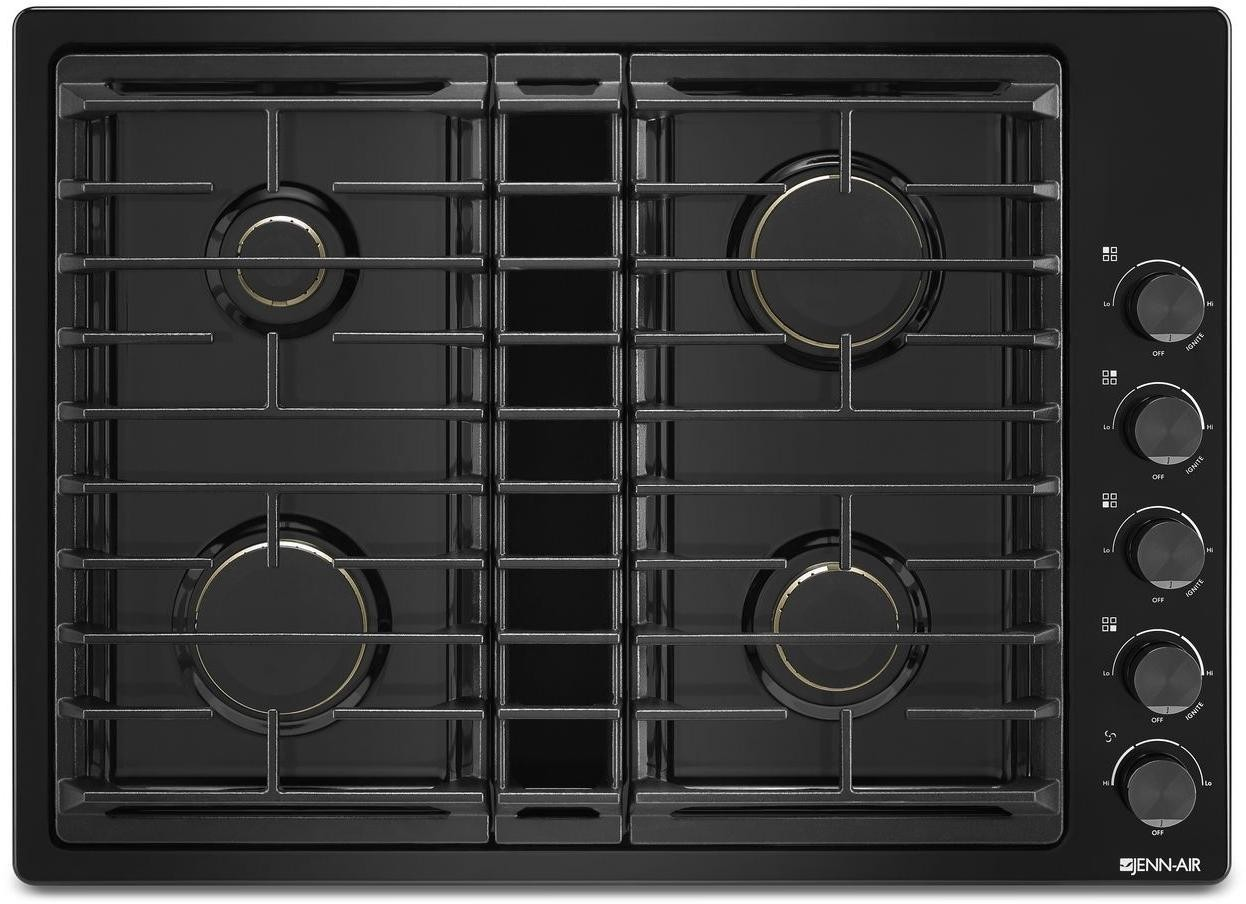 Jennair Jgd3430gb 30 Inch Gas Cooktop With 4 Sealed Burners