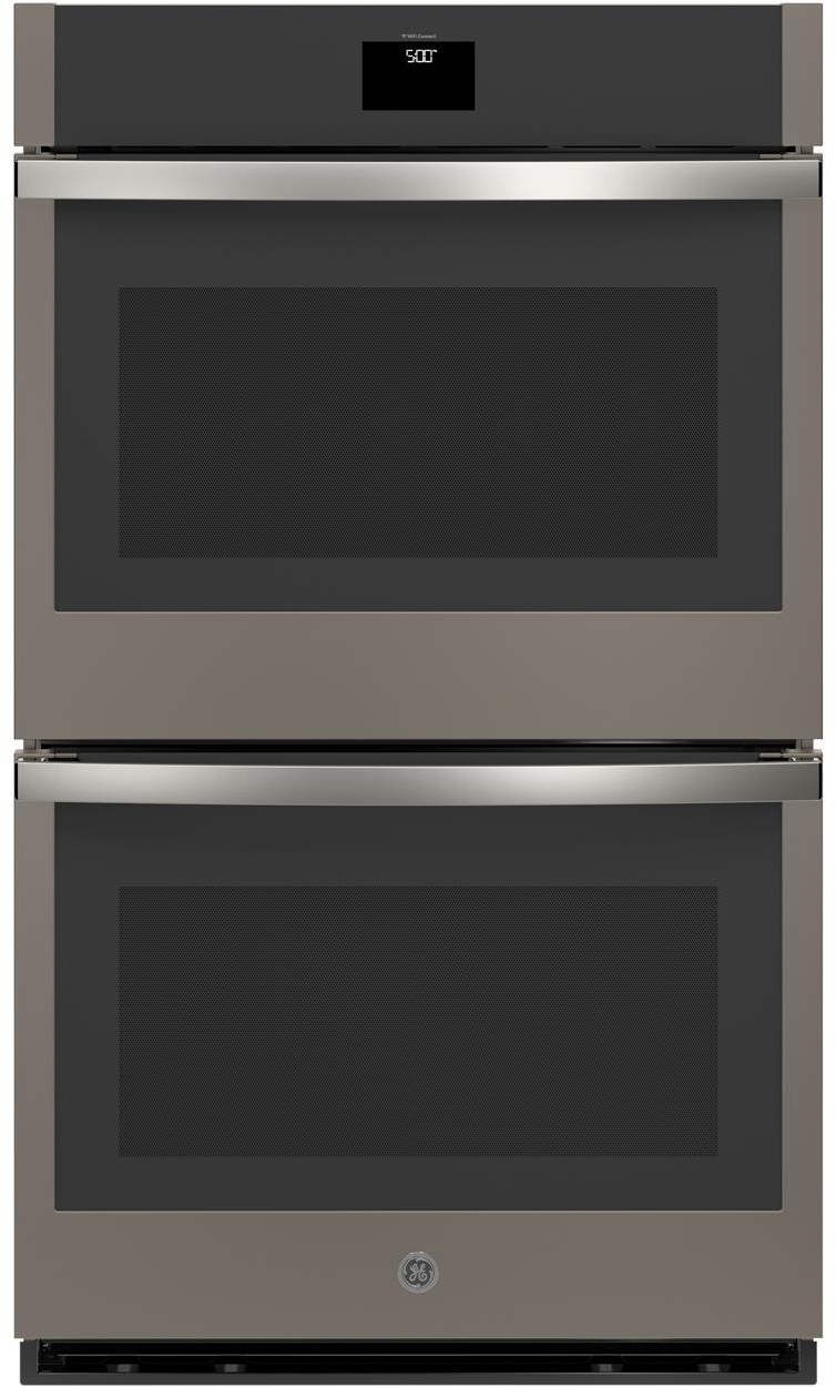 Ge Jtd5000enes 30 Inch Built In Convection Double Wall Oven With Wifi Connect True European Convection Fit Guarantee Heavy Duty Oven Racks Self Clean With Steam Clean Option 10 Pass Bake Element 8 Pass Broil Element Precision