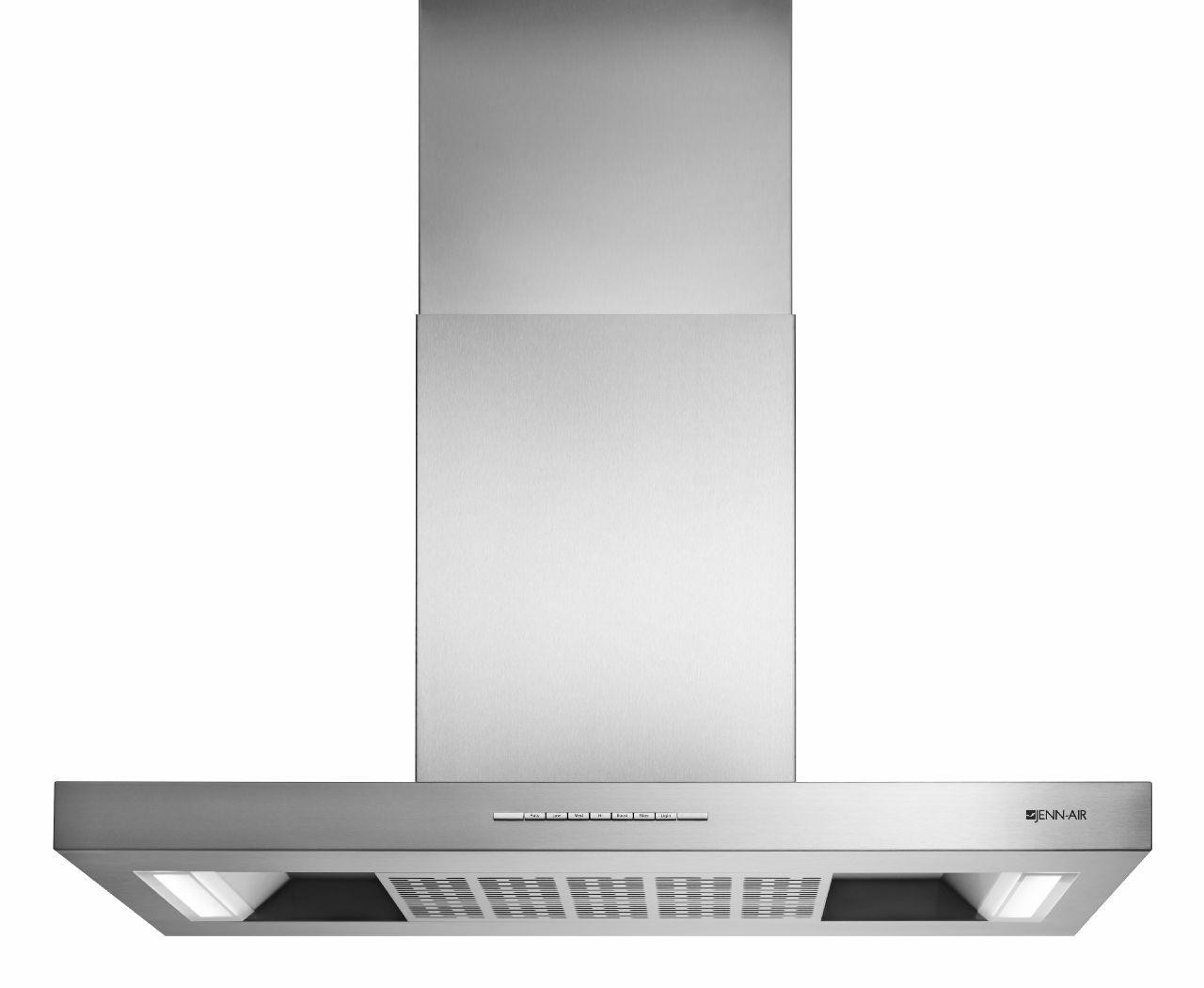 Jennair Jxw8736ds 36 Inch Wall Mount Range Hood With 4 Speeds 600 Cfm Blower Push Button Led Task Lighting Dishwasher Safe Metal Filter Auto Sense Boost Function Quiet Operation Sleep Mode Recirculating Installation Option