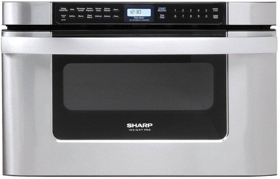 Sharp Kb6524ps 24 Inch Built In Microwave Drawer With