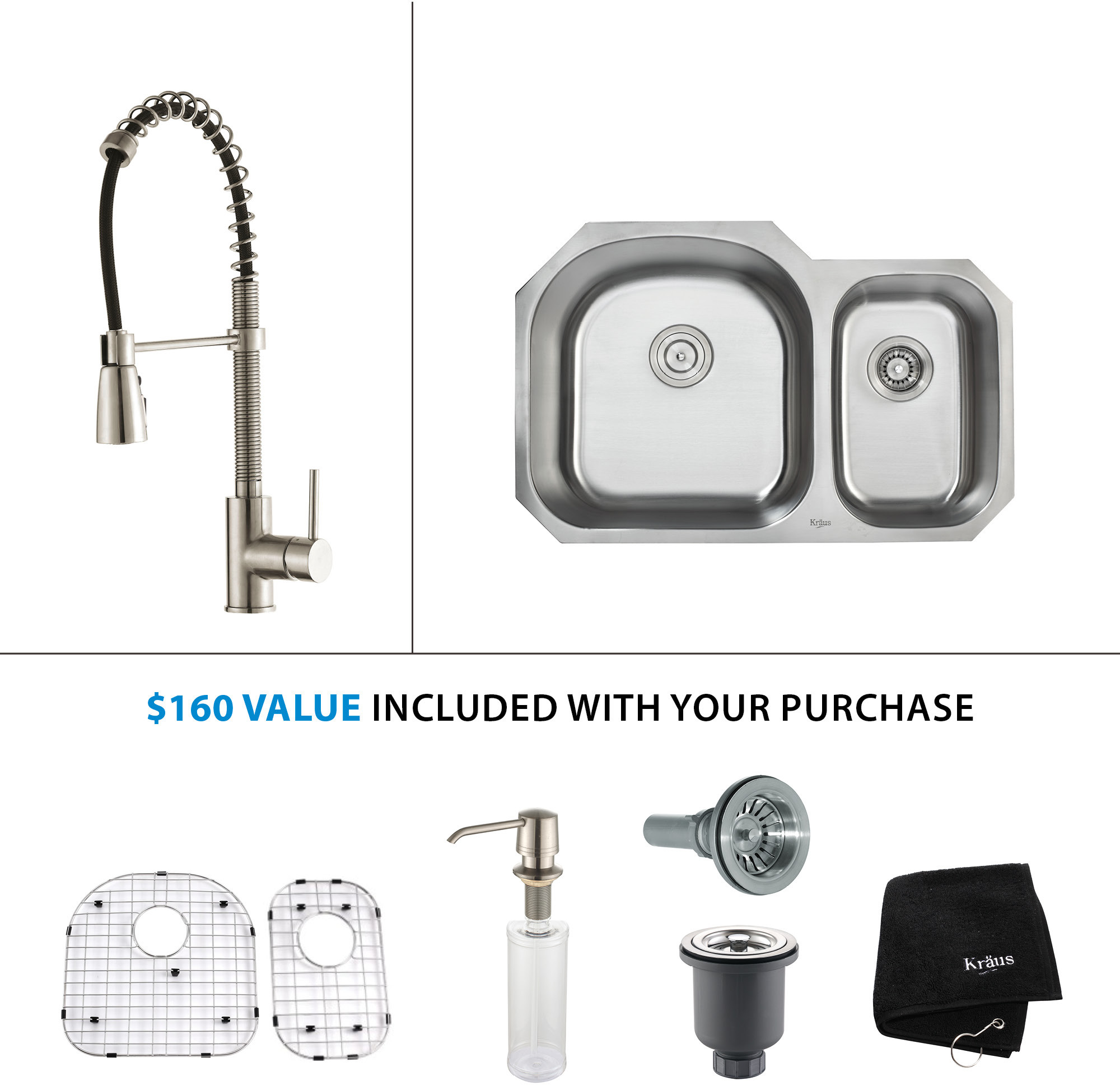 kitchen sink faucet binations