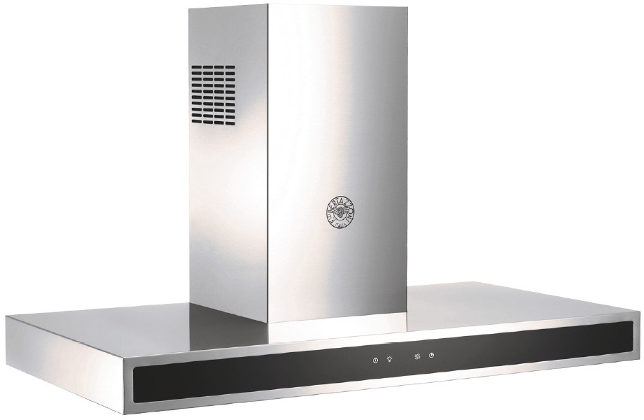 Bertazzoni Kg36x Wall Mount Convertible Range Hood With 3 Speeds Booster 600 Cfm Internal Blower Touch Control 2 Led Lighting Stainless Steel Mesh Filters 42 Dba Sound Level And Ul Certified 36 Inch Width
