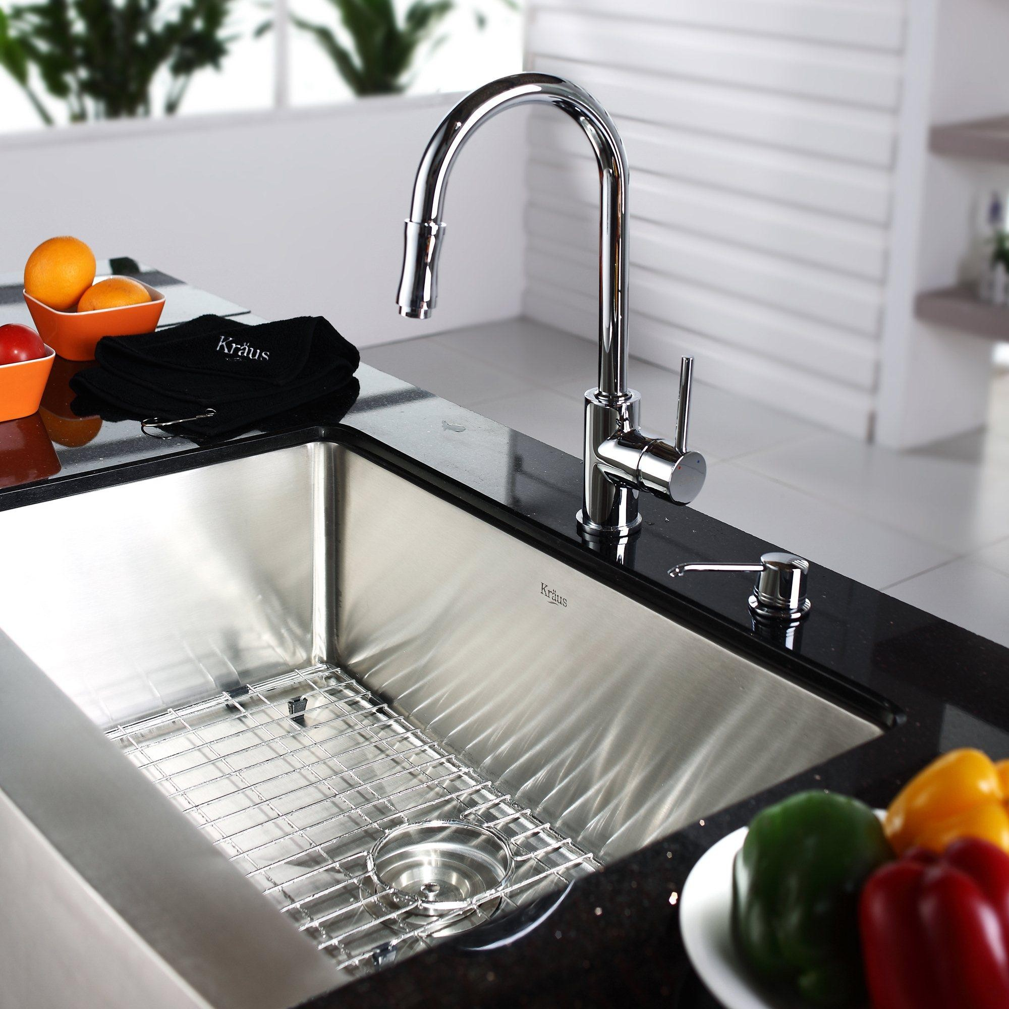 Kitchen Sink Faucet Combinations
