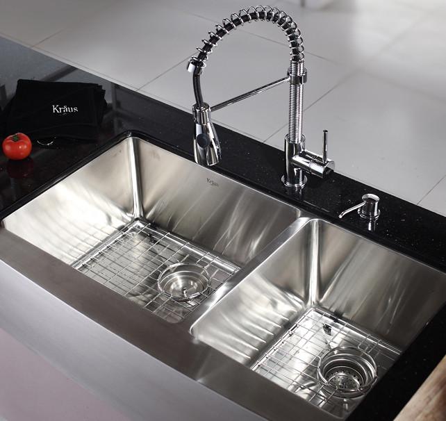 Kraus Kitchen Combo Series KHF20336KPF1612KSD30CH