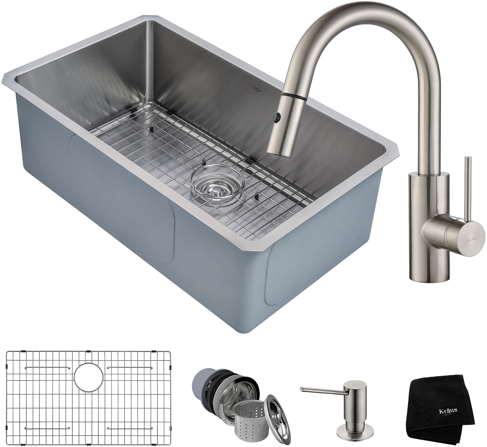 Kitchen Sink & Faucet Combinations