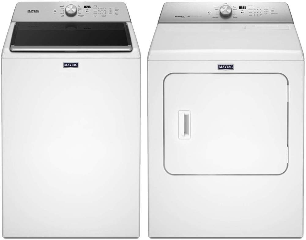 Maytag Mawadrew131 Side By Side Washer Amp Dryer Set With