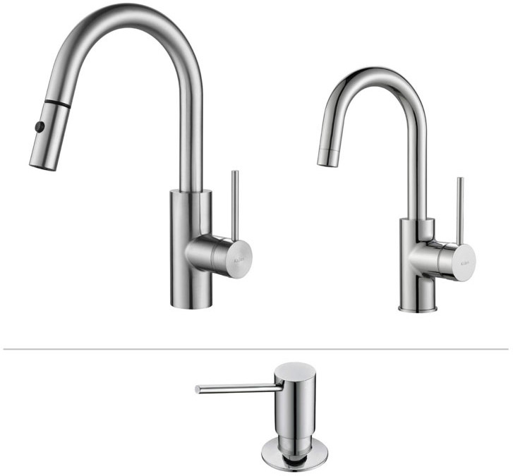 transitional kitchen faucets - Pull Down Kitchen Faucet