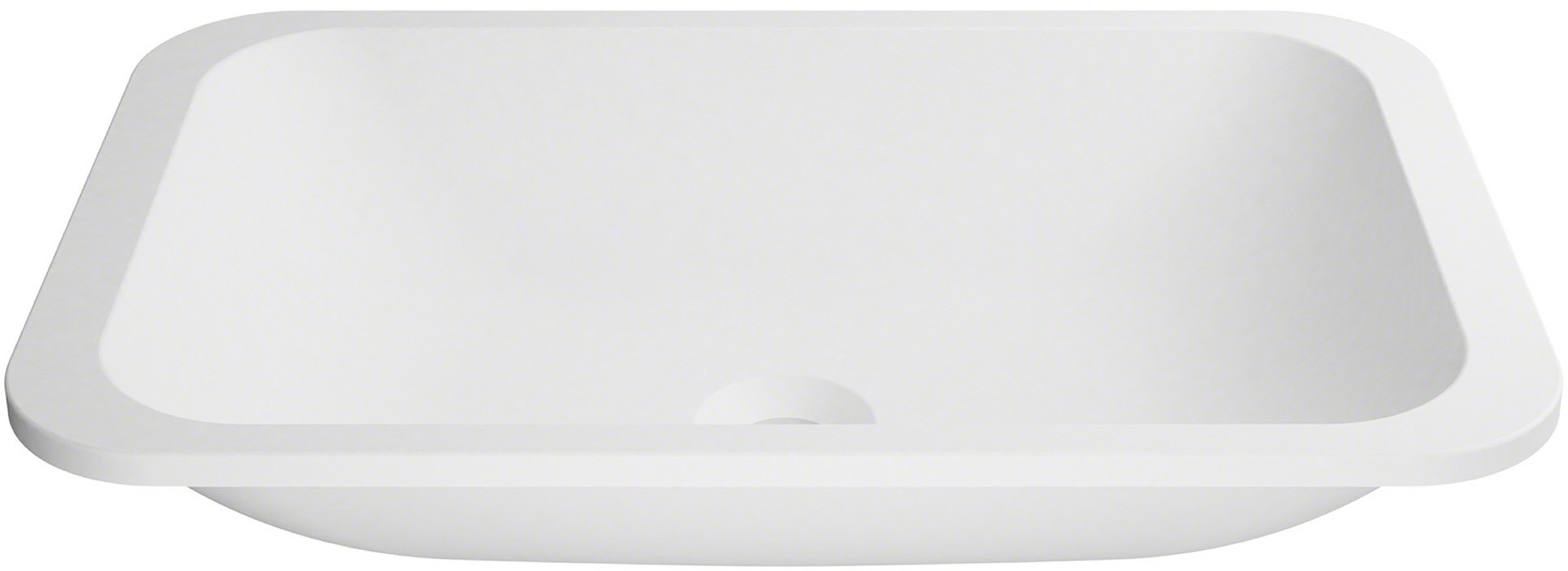 Kraus Ksu8mw Rectangle Undermount Bathroom Sink With Nano Coating Technology Highly Resilient Material And Naturally Hygienic