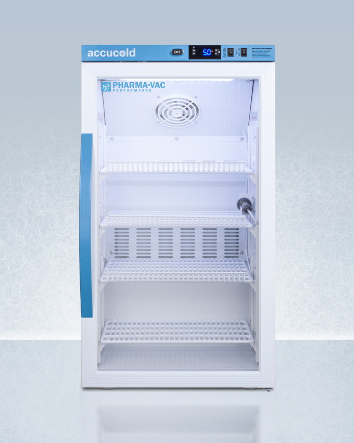 AccuCold 19 Inch 3 Cu. Ft. Compact All-Refrigerator White ARG3PV