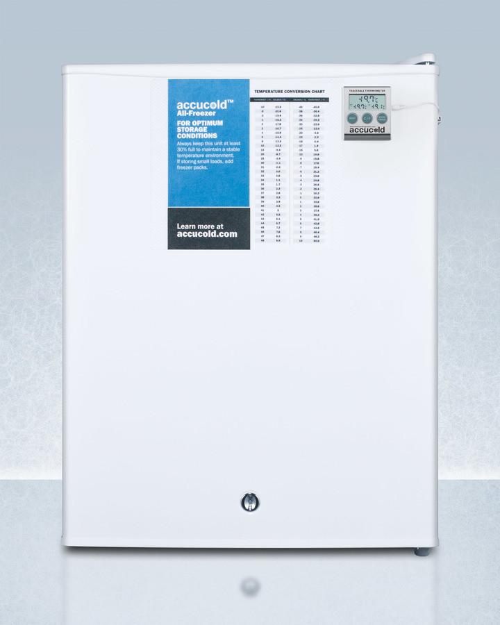 Image of AccuCold 1.8 Cu. Ft. Compact Upright Freezer FS30L7PLUS2