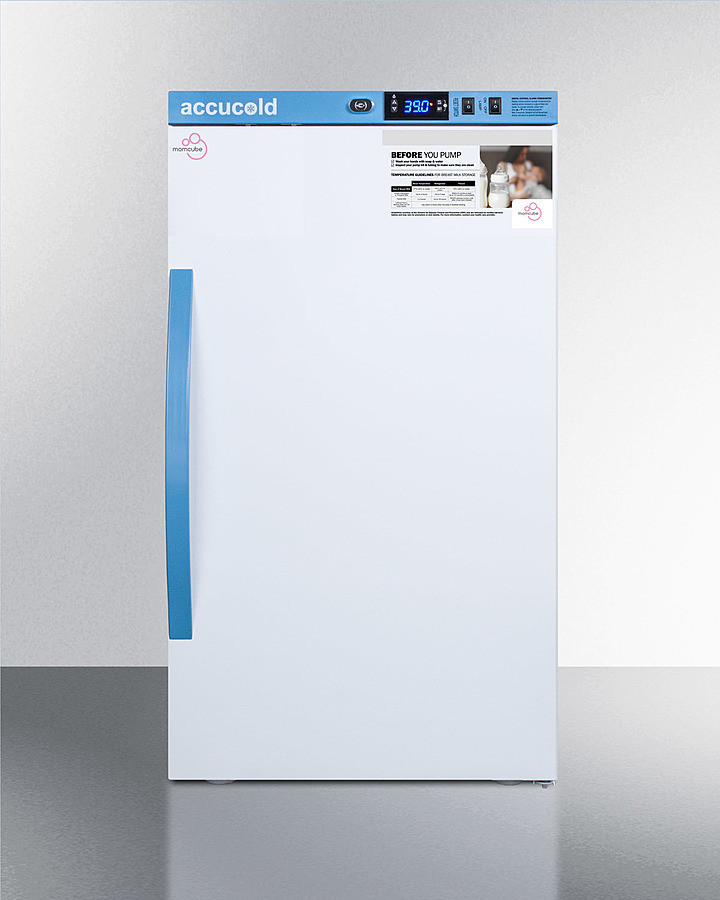 AccuCold 19 Inch 3 Cu. Ft. Compact All-Refrigerator White MLRS3MC