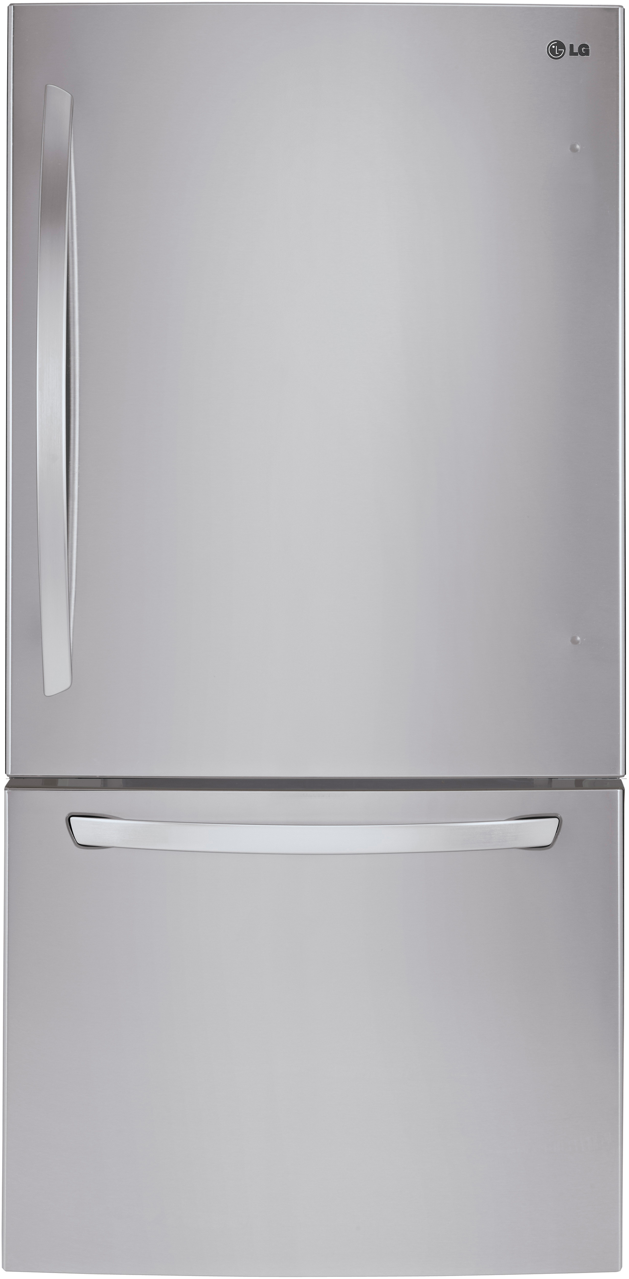 Lg Ldcs22220s 30 Inch Bottom Freezer Refrigerator With