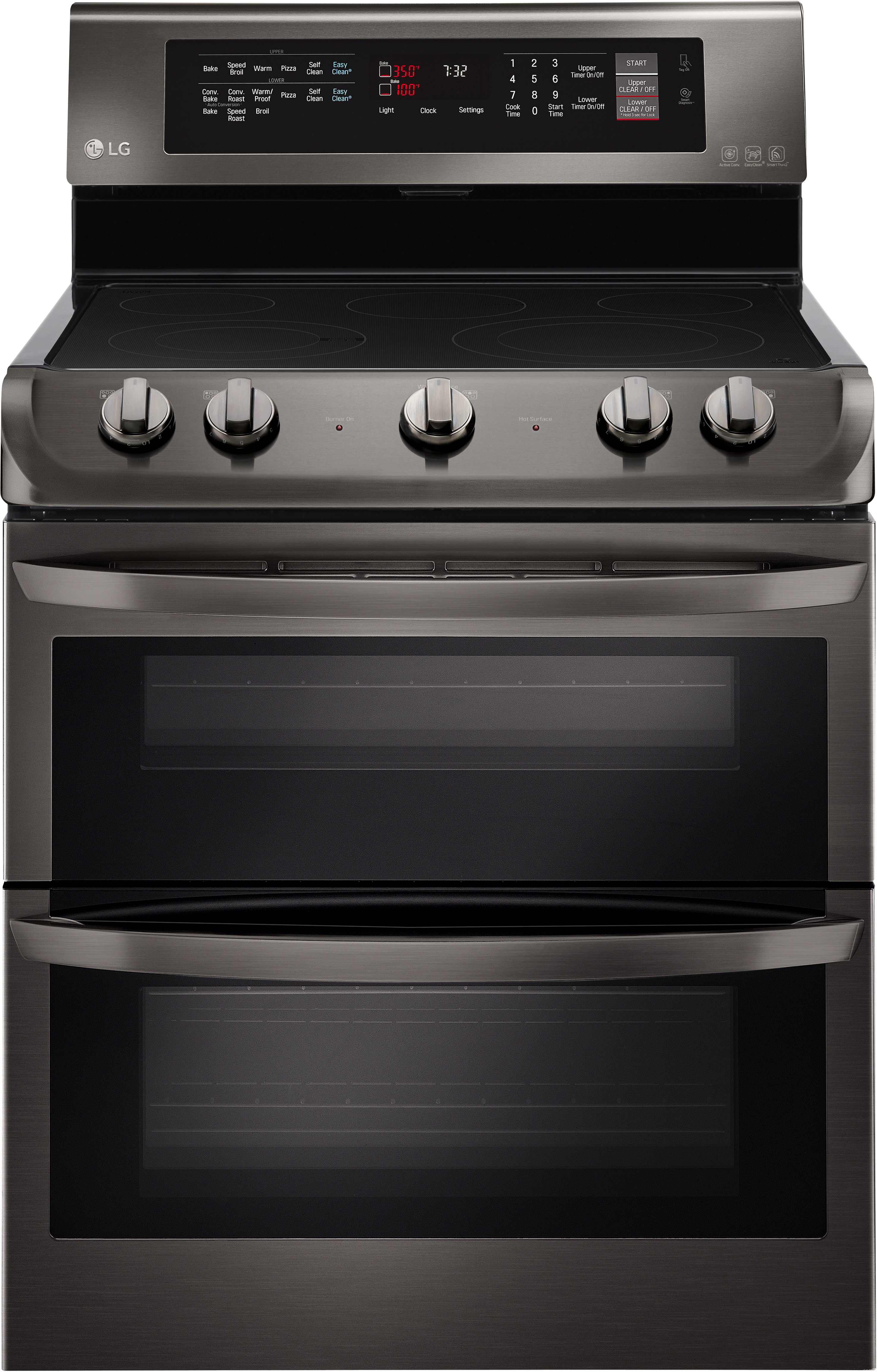Side by side double oven gas stove - Side By Side Double Oven Gas Stove 57