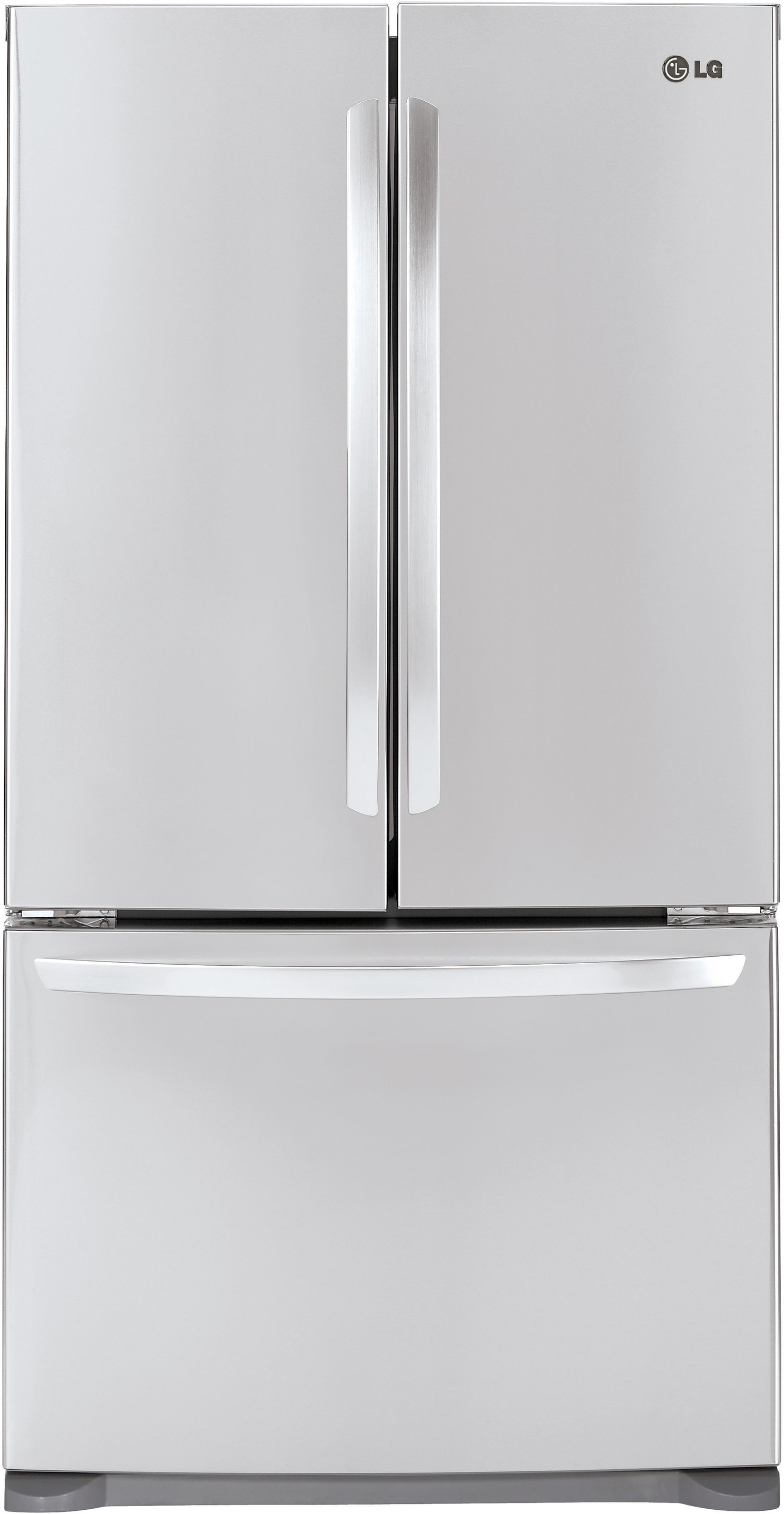 resistant doors ft french with appliances shop maker com tif original door fingerprint cu whirlpool web lg ice at stainless lowes refrigerators pl refrigerator