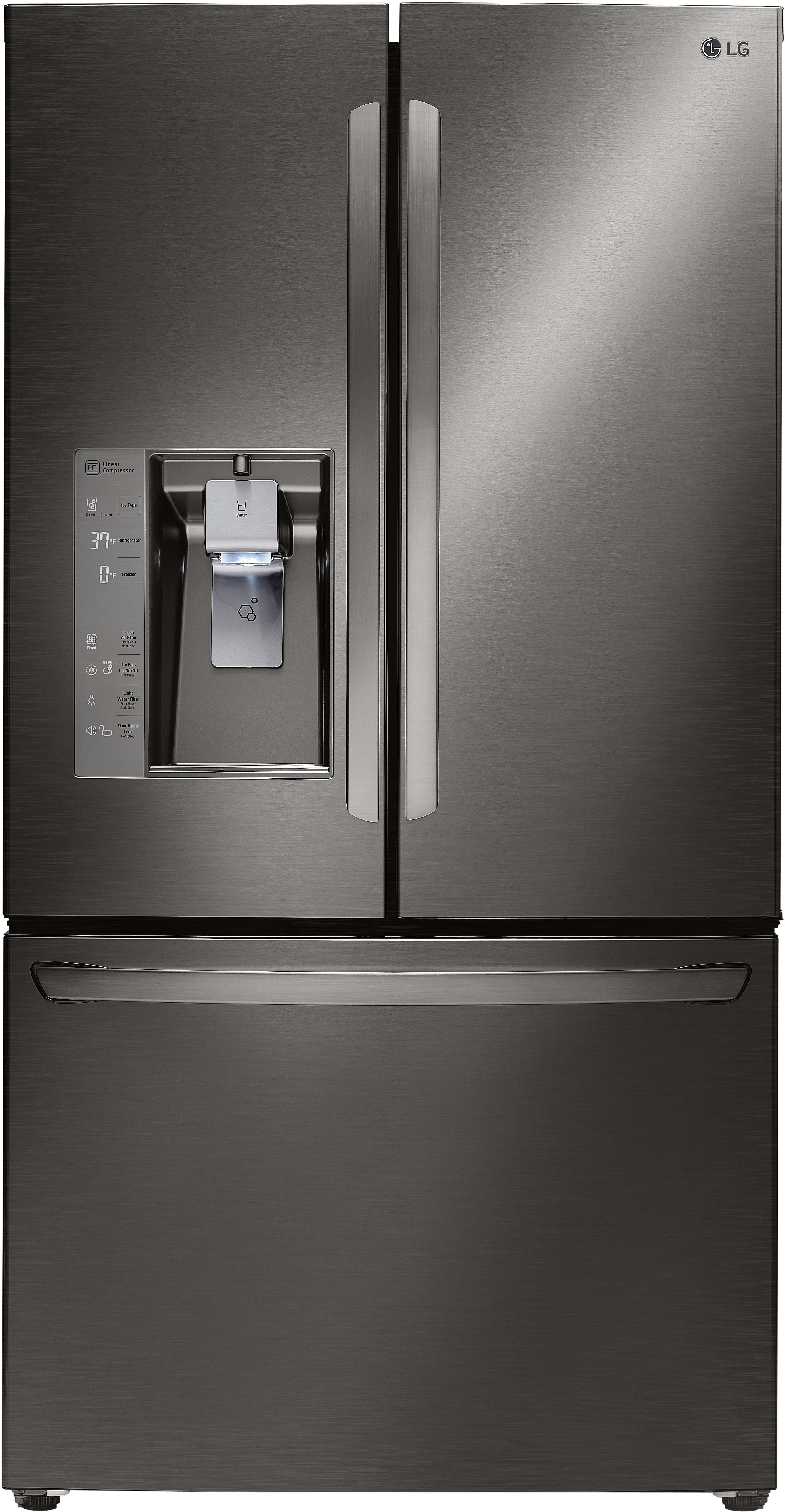 LG 36 Inch Counter Depth French Door Refrigerator