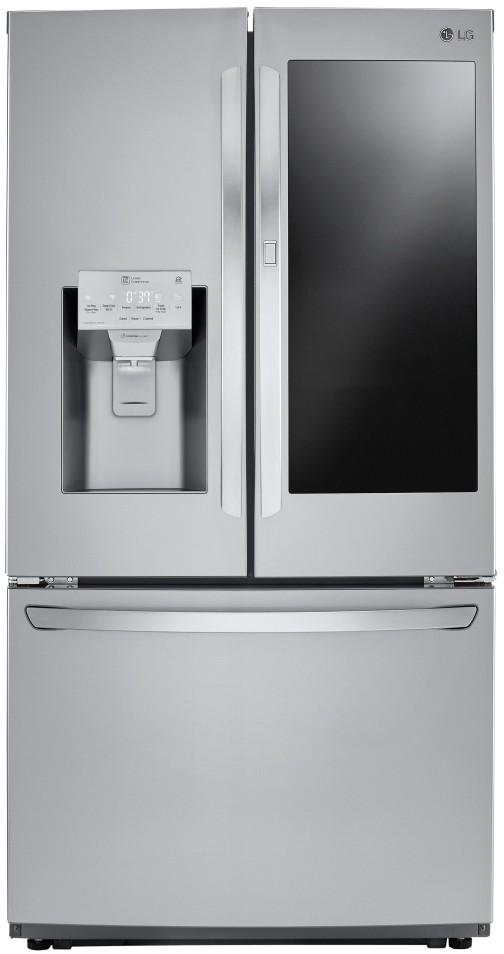 Ft Stainless InstaView Door-in-Door French Door Refrigerator LG LFXS26596S 26 Cu