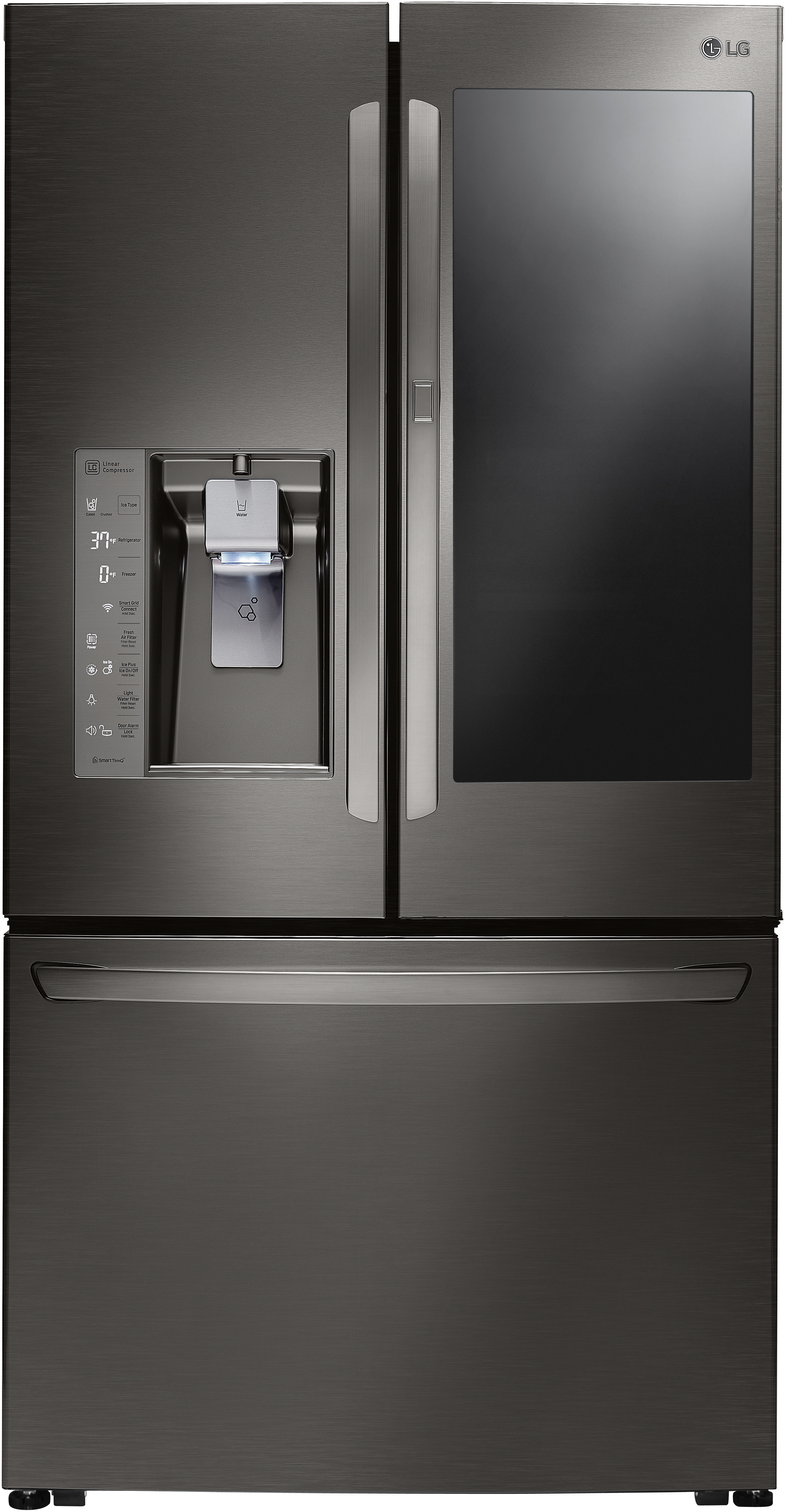 Glass door refrigerators high end look aj madison planetlyrics Image collections