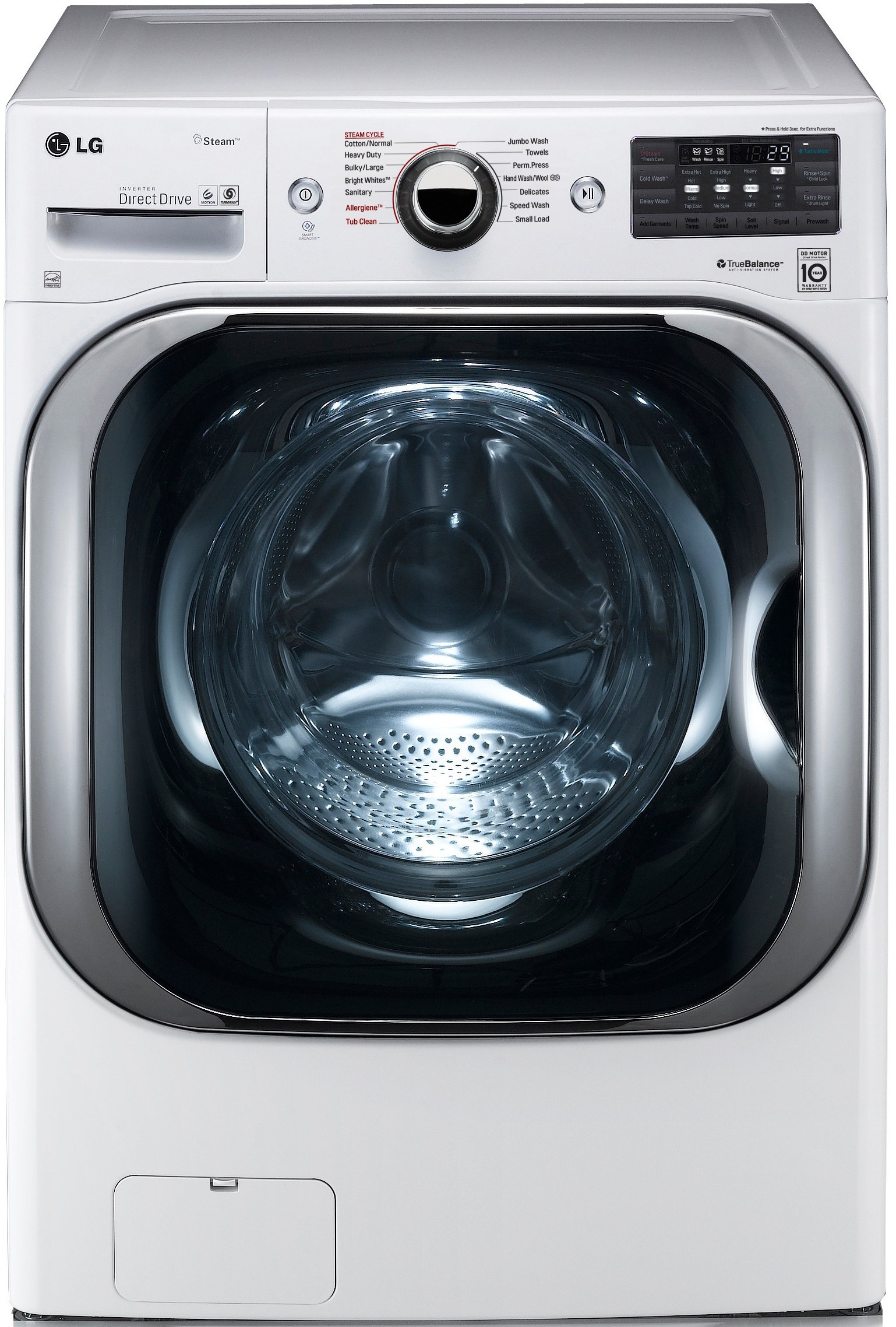 Front Load Washer Dimensions 5 59 Cu Ft Washers