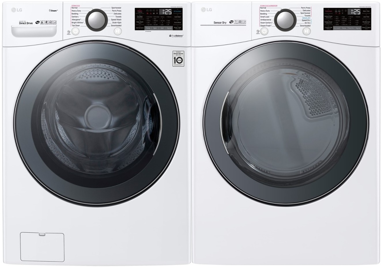 lg download mode washer
