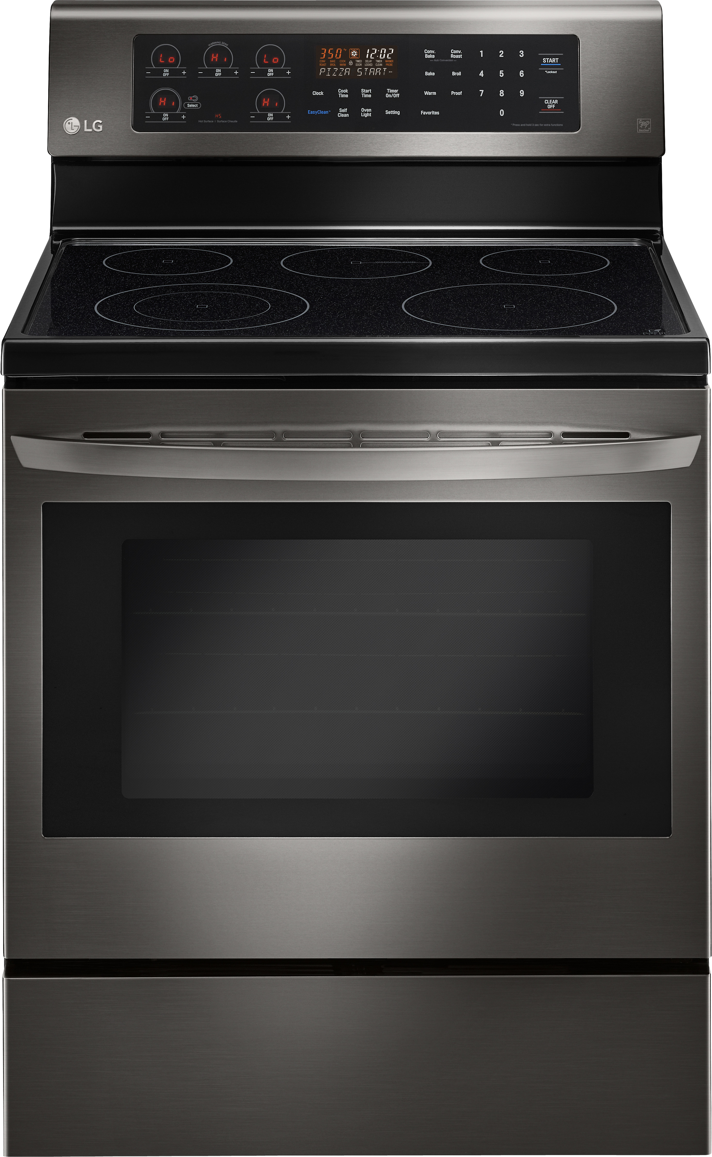 Lg Lre3083bd 30 Inch Electric Range With True Convection