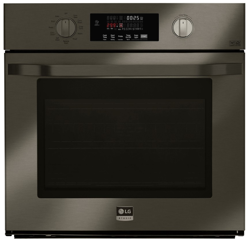 Lg Lsws300bd 30 Inch Smart Single Electric Wall Oven With