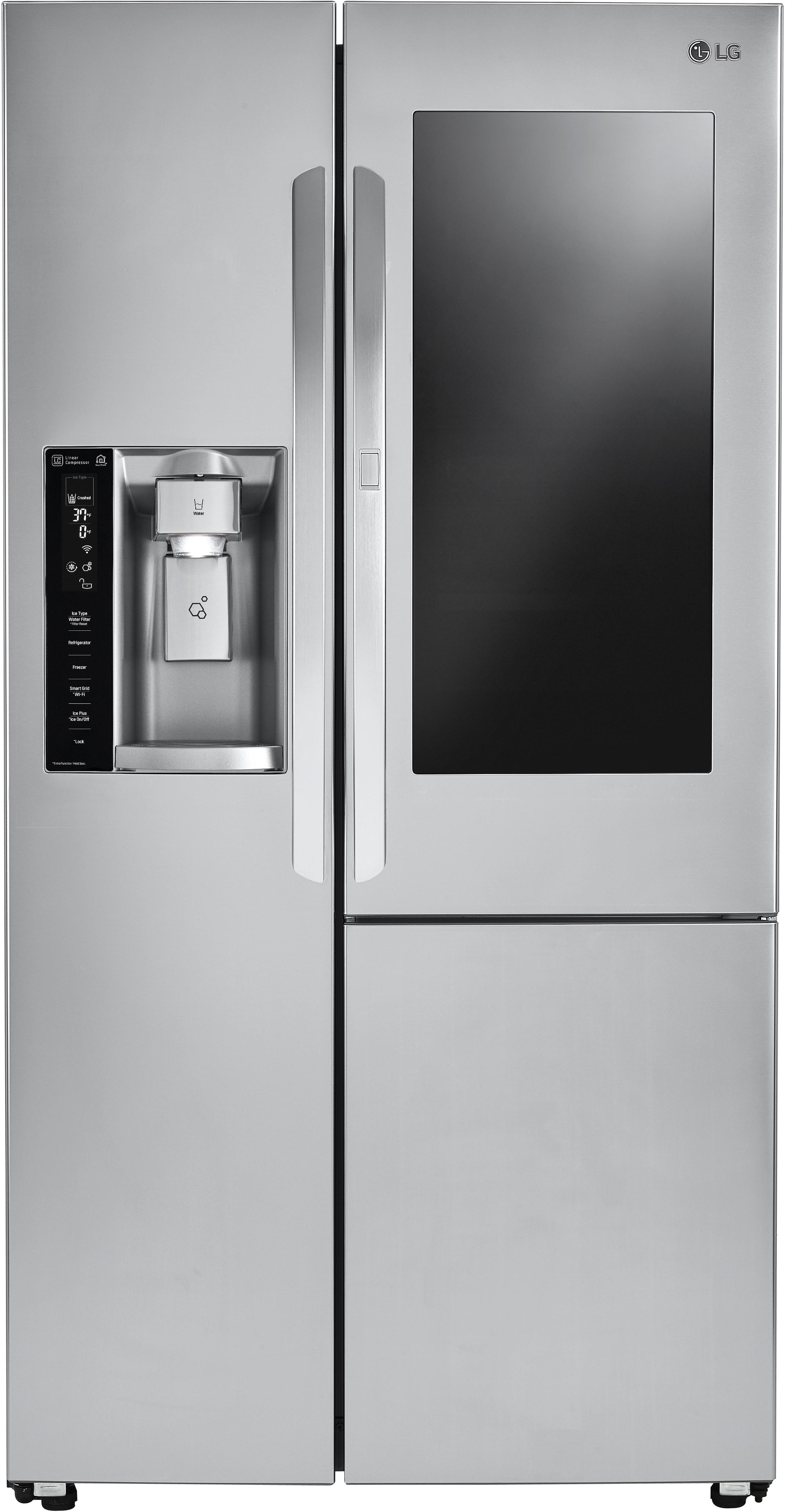 Frosted Glass Door Refrigerator