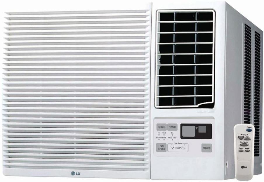 Lg Lw8016hr 7 500 Btu Room Air Conditioner With 3 850 Btu