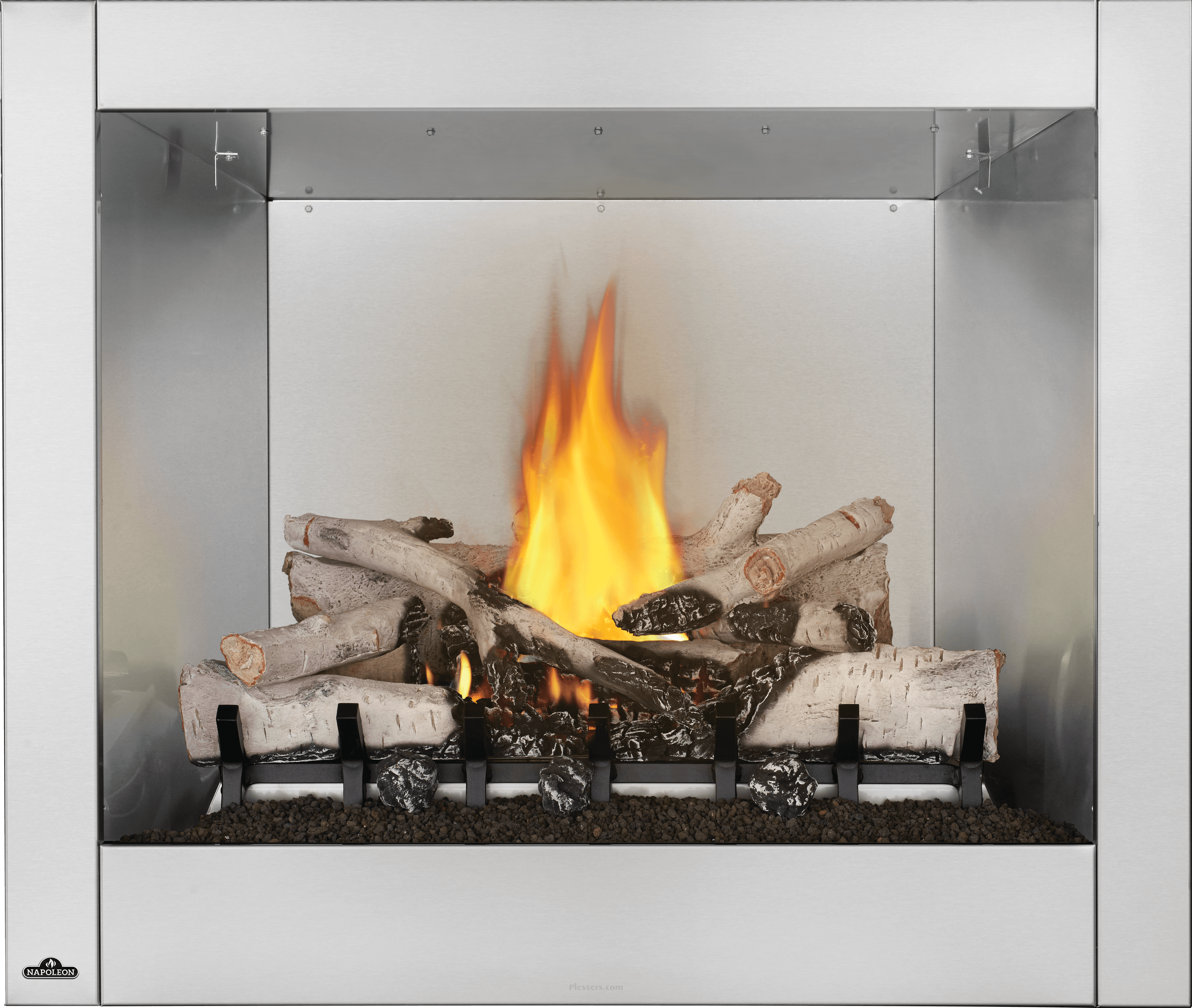 Napoleon Gss36cfn Riverside 36 Clean Face Gas Fireplace With Safe