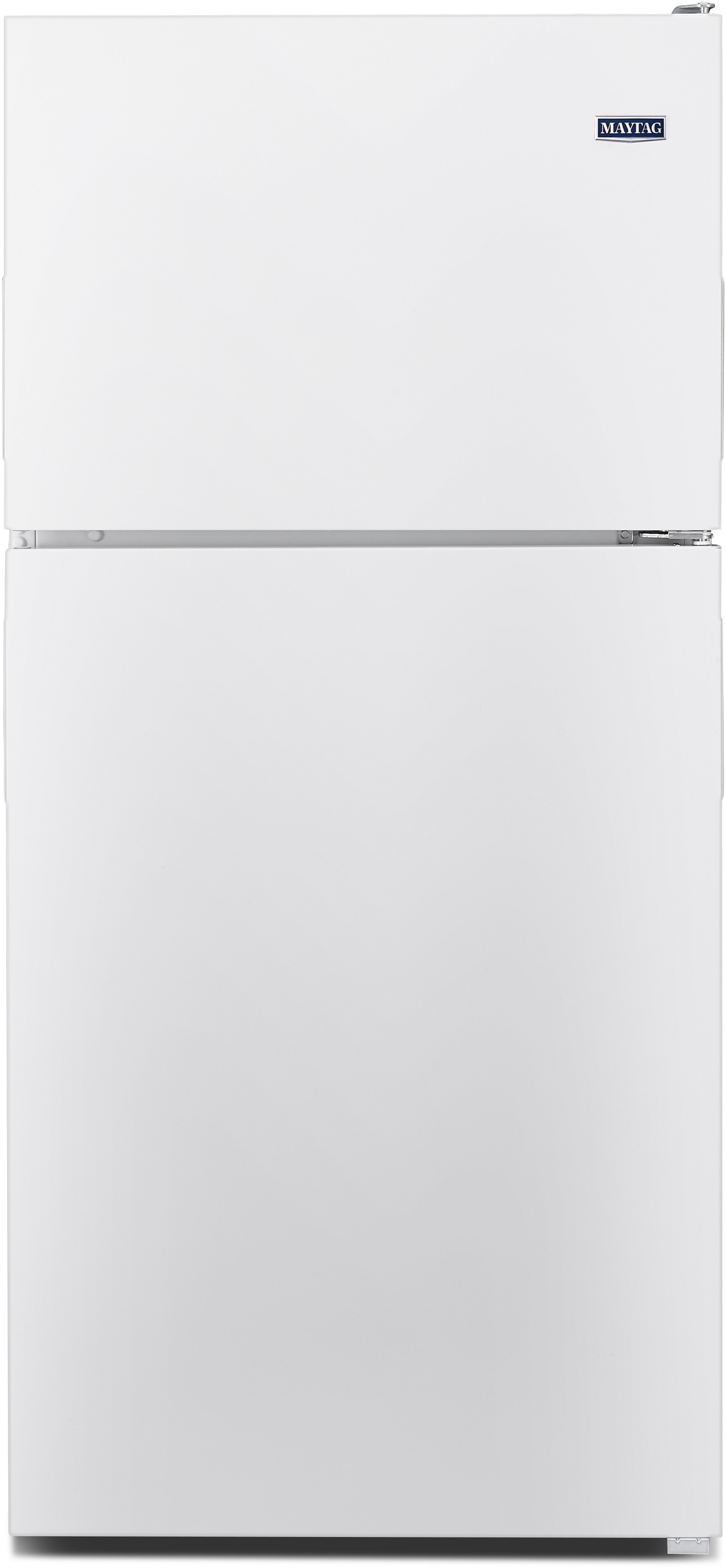 Maytag Mrt118fffh 30 Inch Top Freezer Refrigerator With 18 15 Cu Ft Capacity Adjustable Glass Shelves Gallon Door Storage 2 Humidity Controlled Crisper Drawers Powercold Feature Brightseries Led Up Front Electronic Controls And Ada Compliant