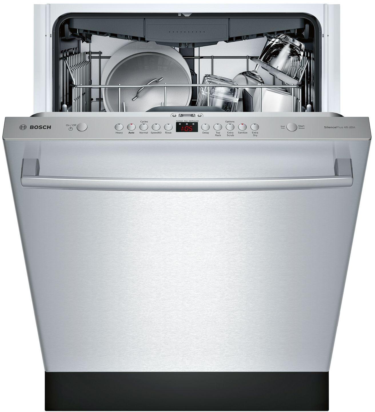 Bosch 24 100 Series Black Built-In Dishwasher