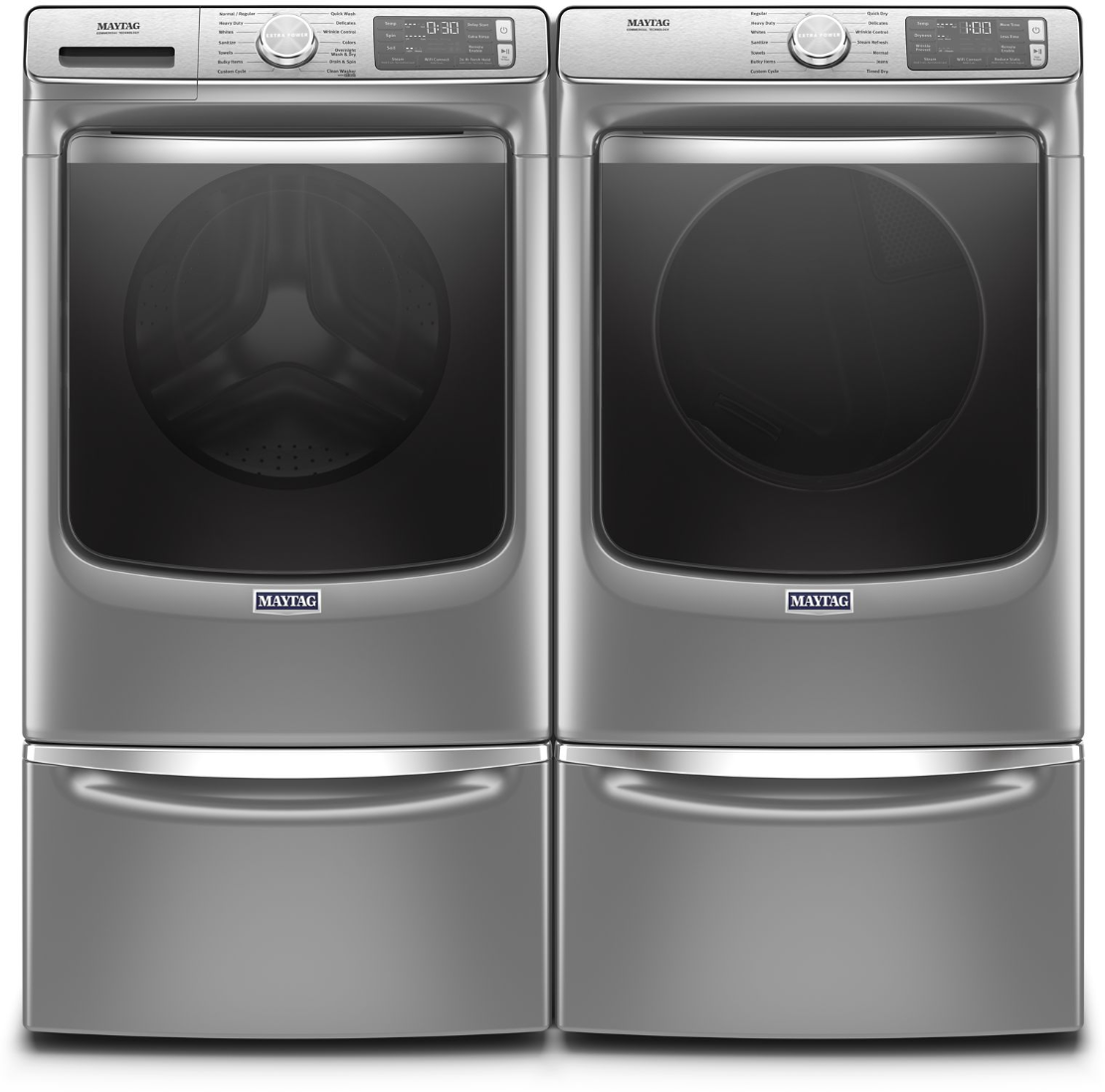 Maytag Mawadrgc86302 Side By Side On Pedestals Washer
