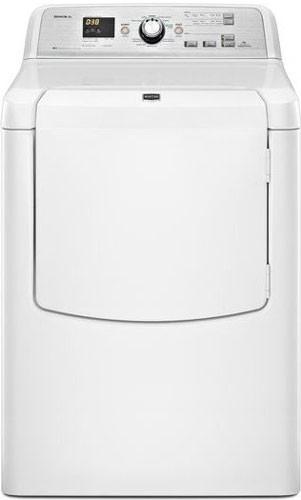 Maytag Medb725bw 29 Inch Electric Dryer With 7 3 Cu Ft Capacity 5 Temperatures Advanced Moisture Sensing Enhanced Airflow Monitor Reversible Side Swing Door