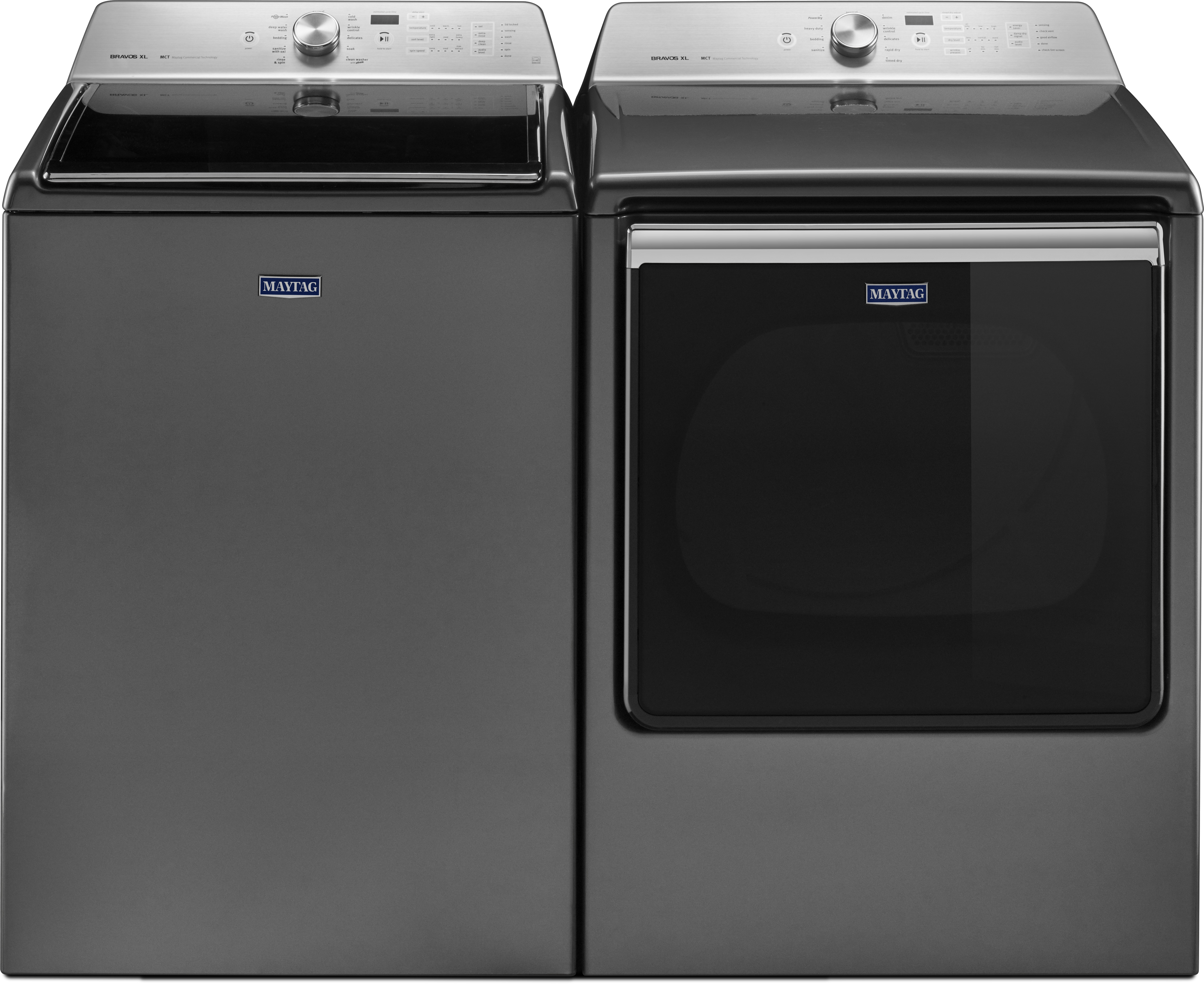 Maytag Mawadrems1 Side By Side Washer Amp Dryer Set With Top