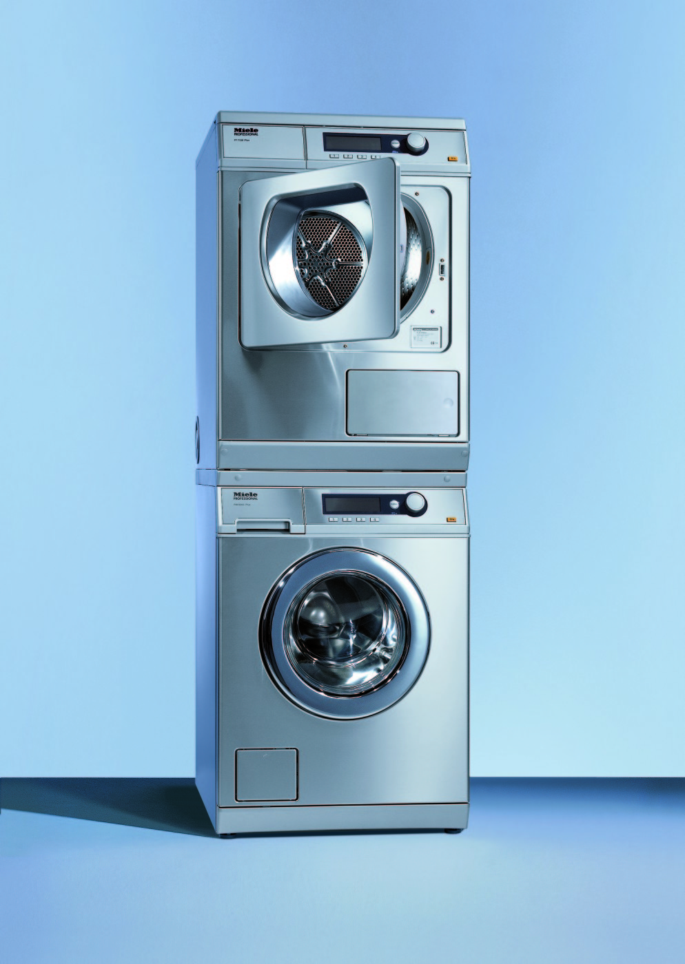 Stainless Steel Washer & Dryer Sets