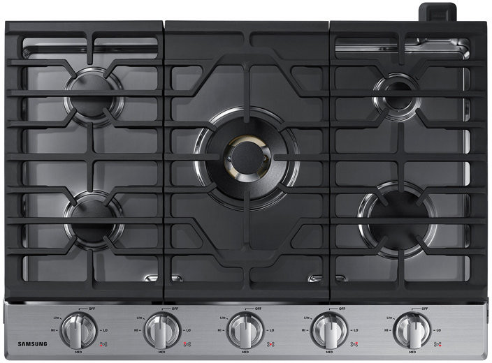Samsung Na30n7755ts 30 Inch Smart Gas Cooktop With Wi Fi