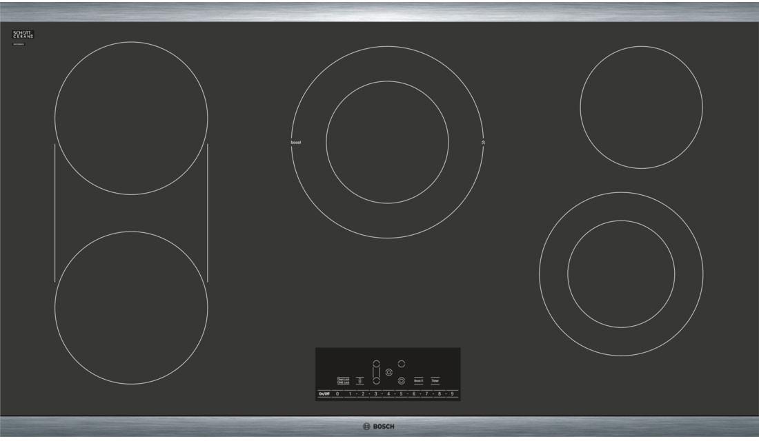Bosch Range Top >> Bosch 800 Series 36 Inch Electric Cooktop