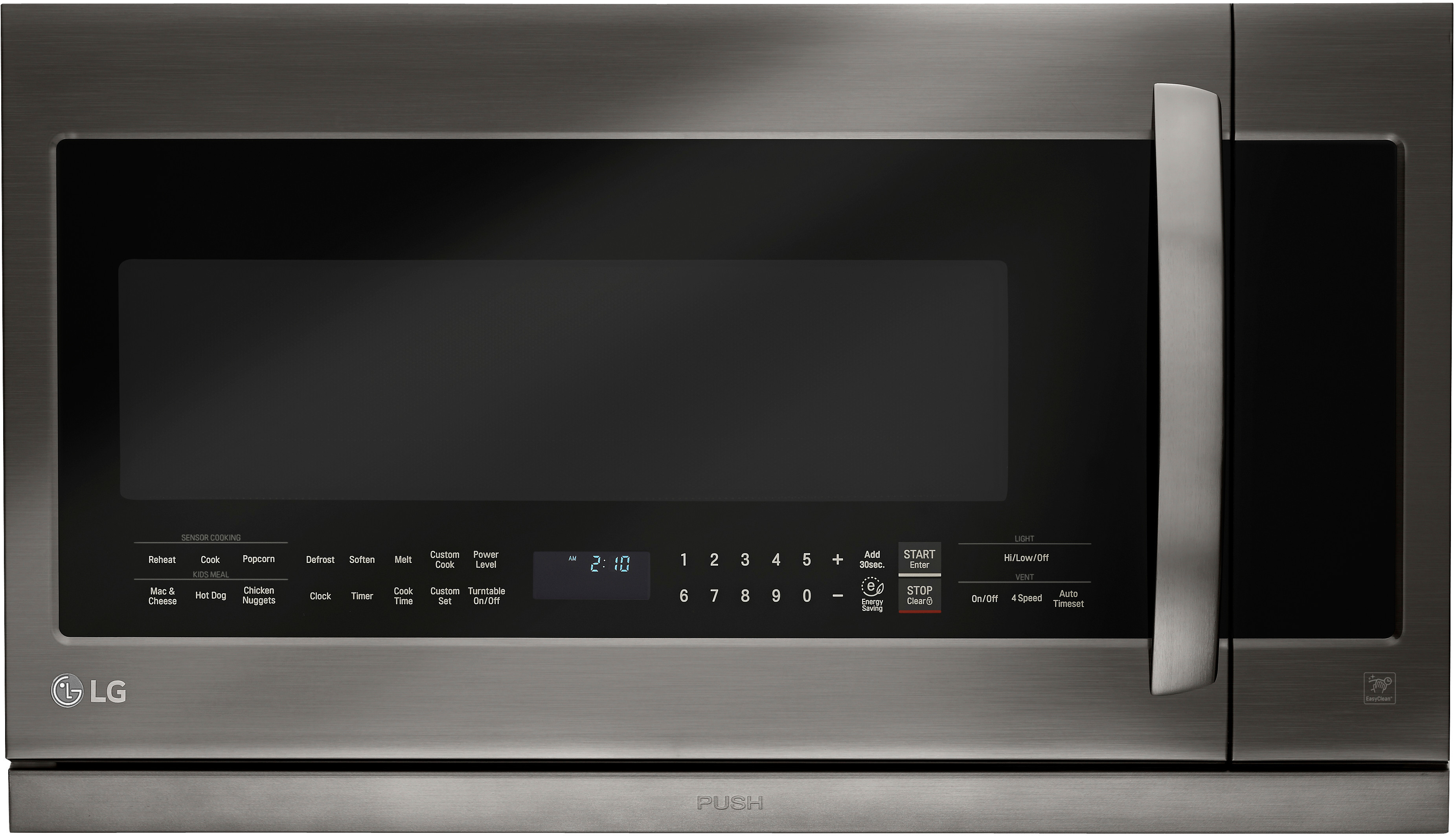 Lg Lmhm2237bd 2 Cu Ft Over The