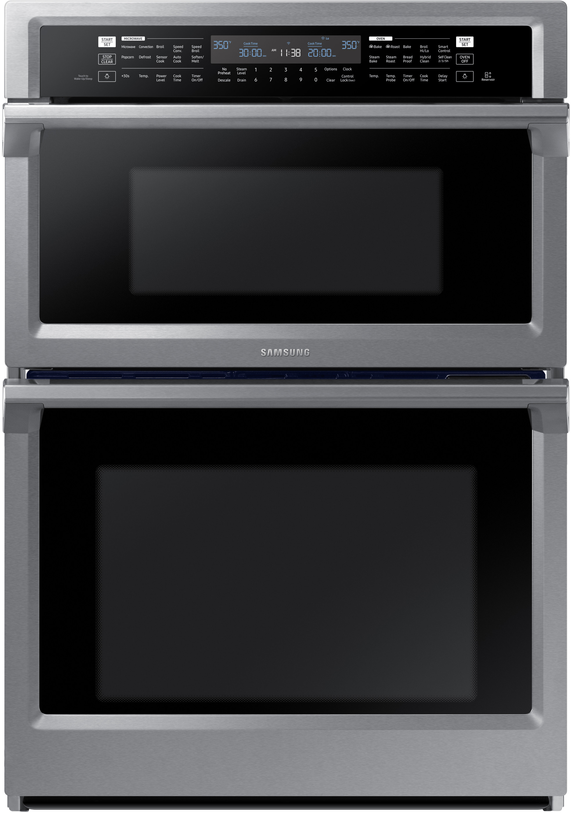 Samsung Nq70m6650ds 30 Inch Smart Combination Electric
