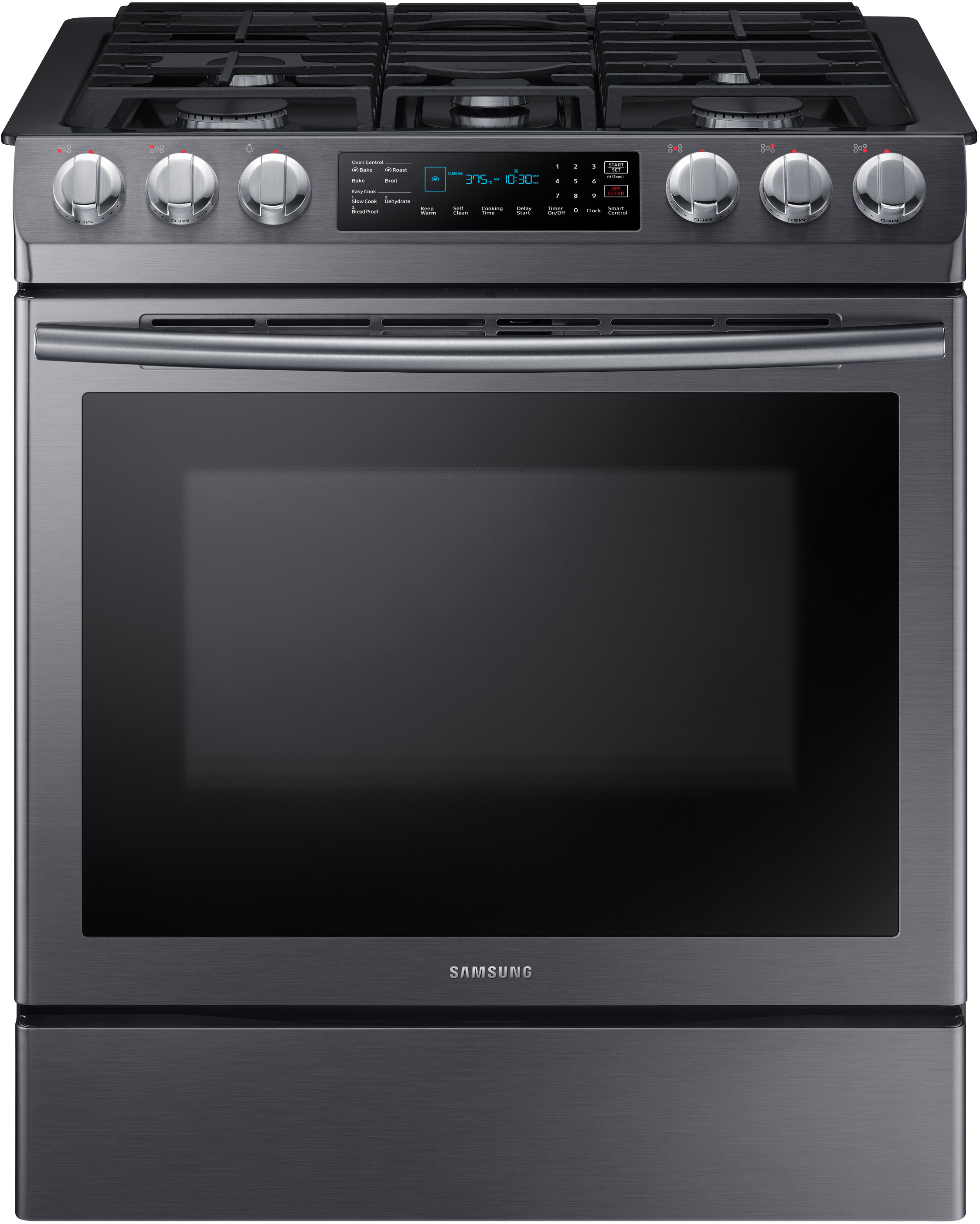 Samsung Nx58n9420sg 30 Inch Slide In Gas Range With