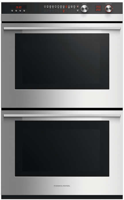 Fisher Amp Paykel Ob30dtepx3n 30 Inch Double Electric Wall