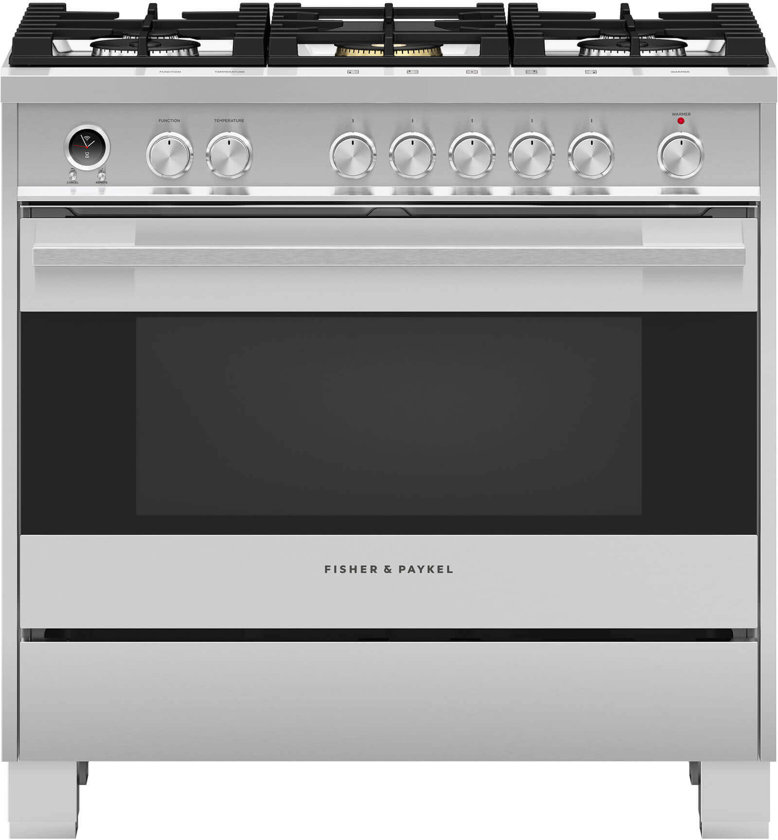 Fisher & Paykel OR36SDG6X1 36 Inch Freestanding Dual Fuel Range with ...