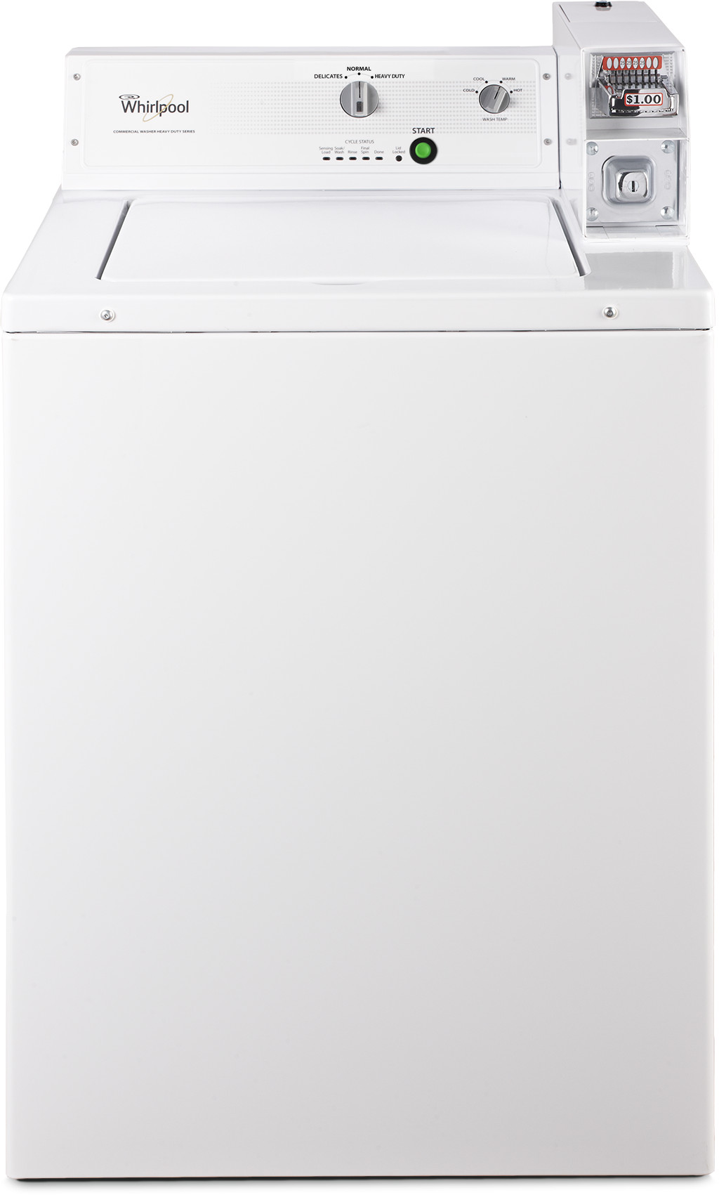 Whirlpool Commercial Laundry CAE2743BQ