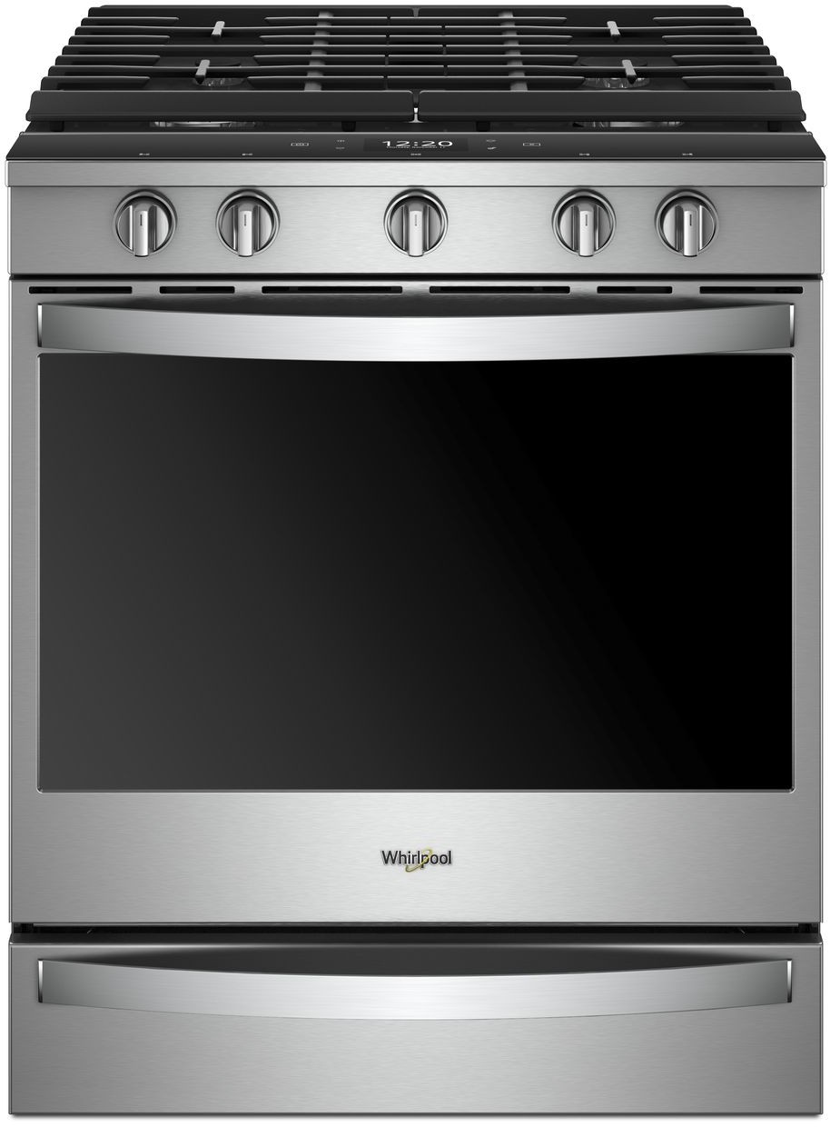 Inch Smart Slide In Gas Range