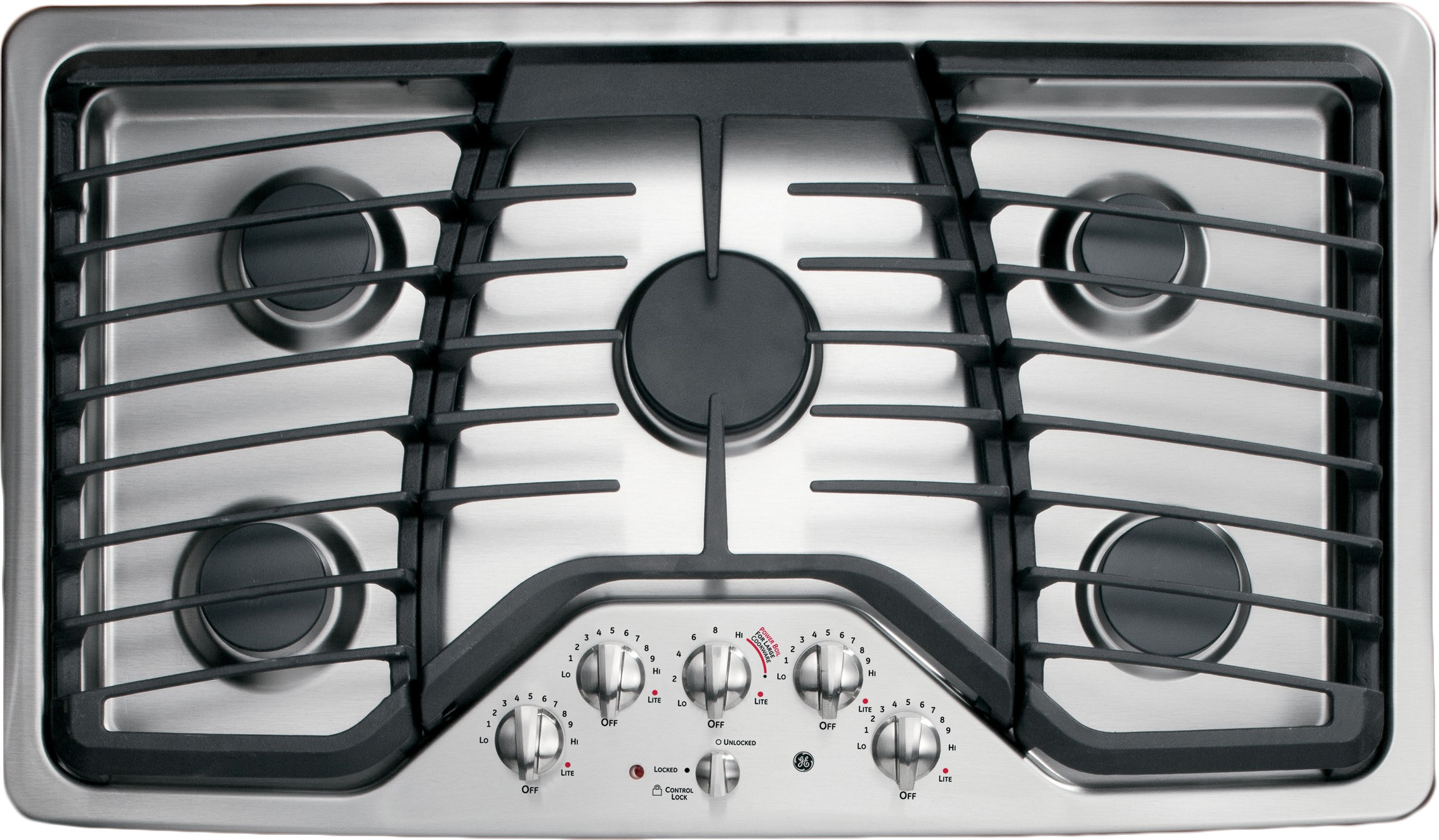 Ge Pgp976setss 36 Inch Gas Cooktop With